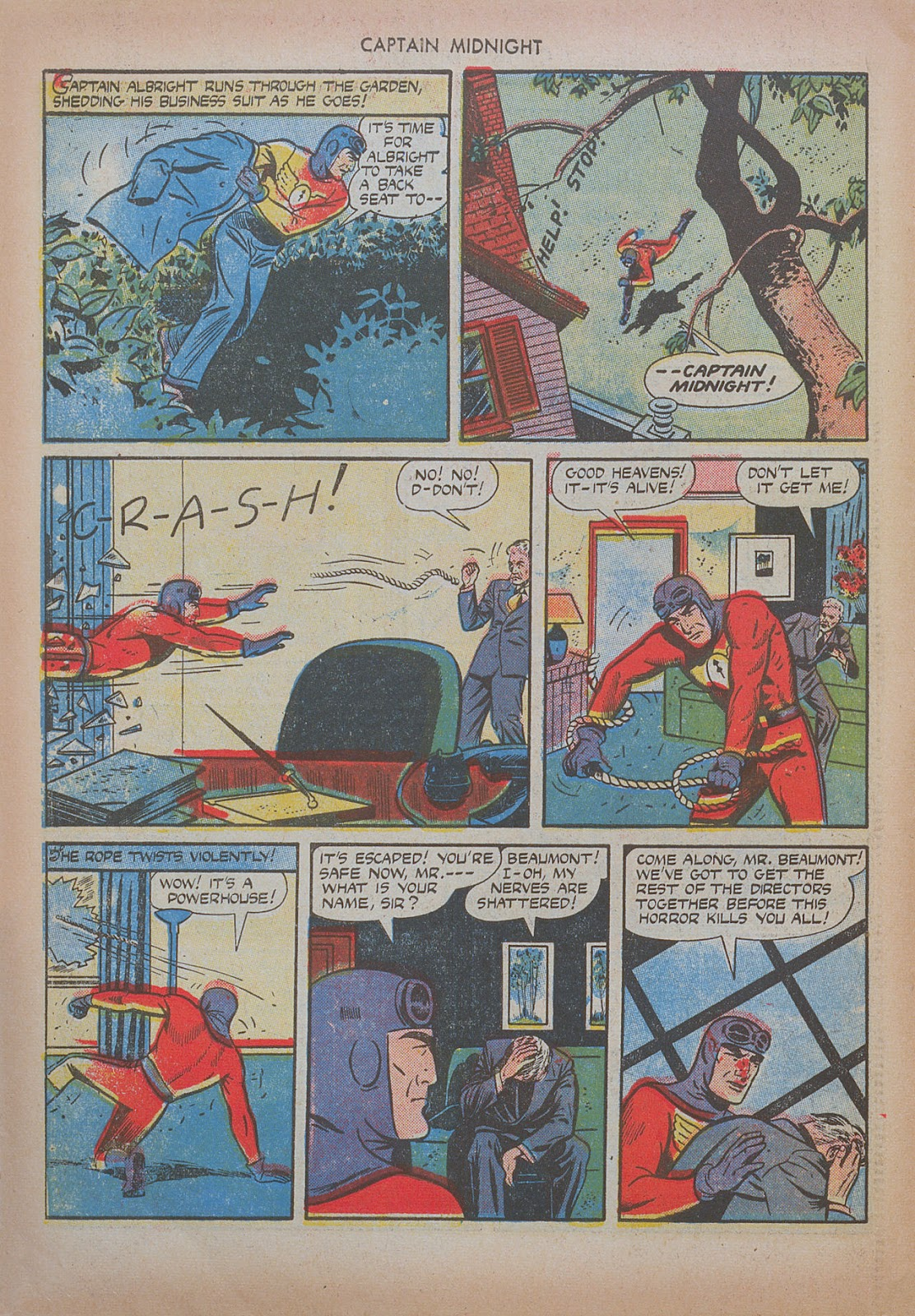 Captain Midnight (1942) issue 20 - Page 18