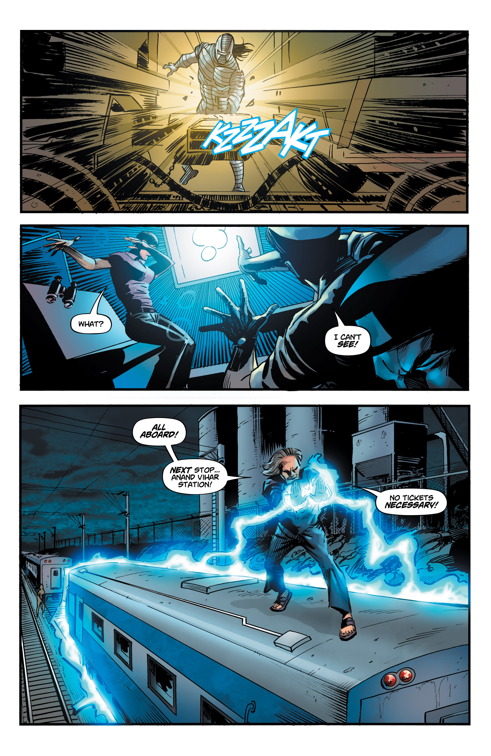 Read online Shadow Tiger comic -  Issue #3 - 13