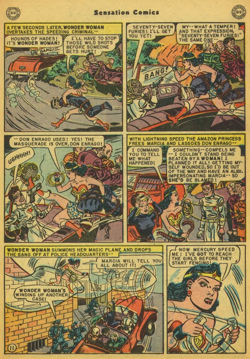 Read online Sensation (Mystery) Comics comic -  Issue #80 - 12
