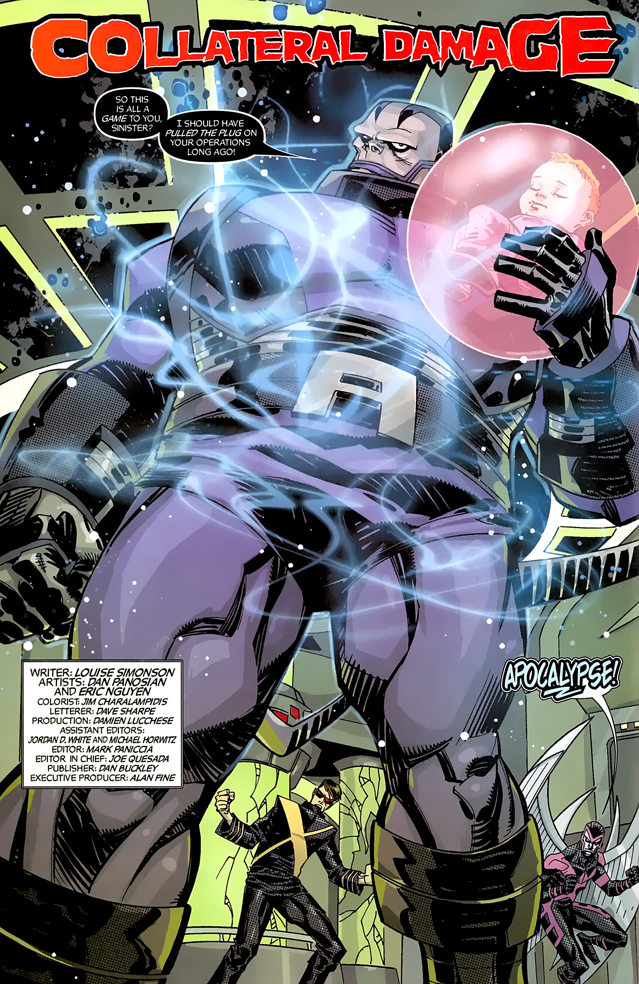 Read online X-Factor Forever comic -  Issue #5 - 4
