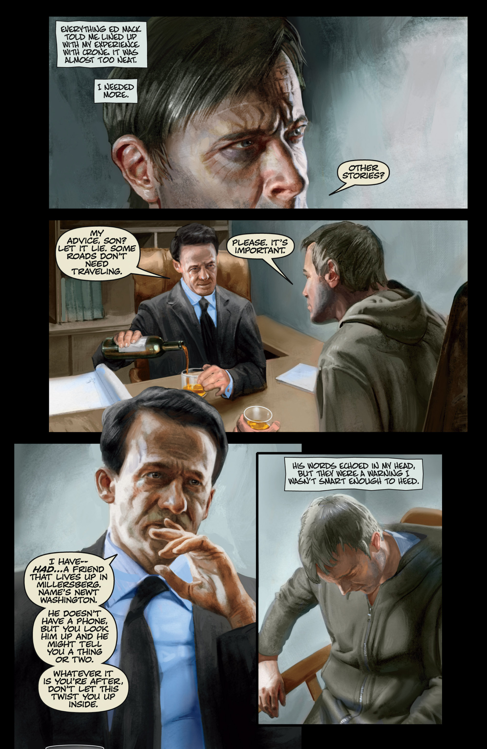 Read online Abattoir comic -  Issue #3 - 13