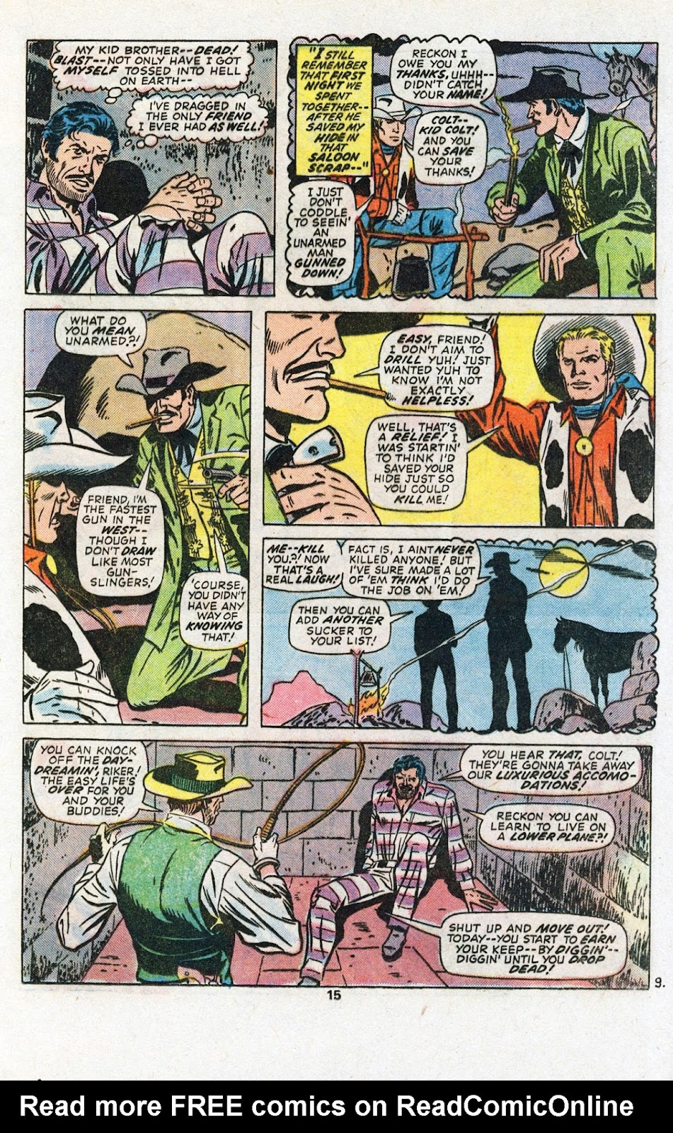 Kid Colt Outlaw issue 201 - Page 17