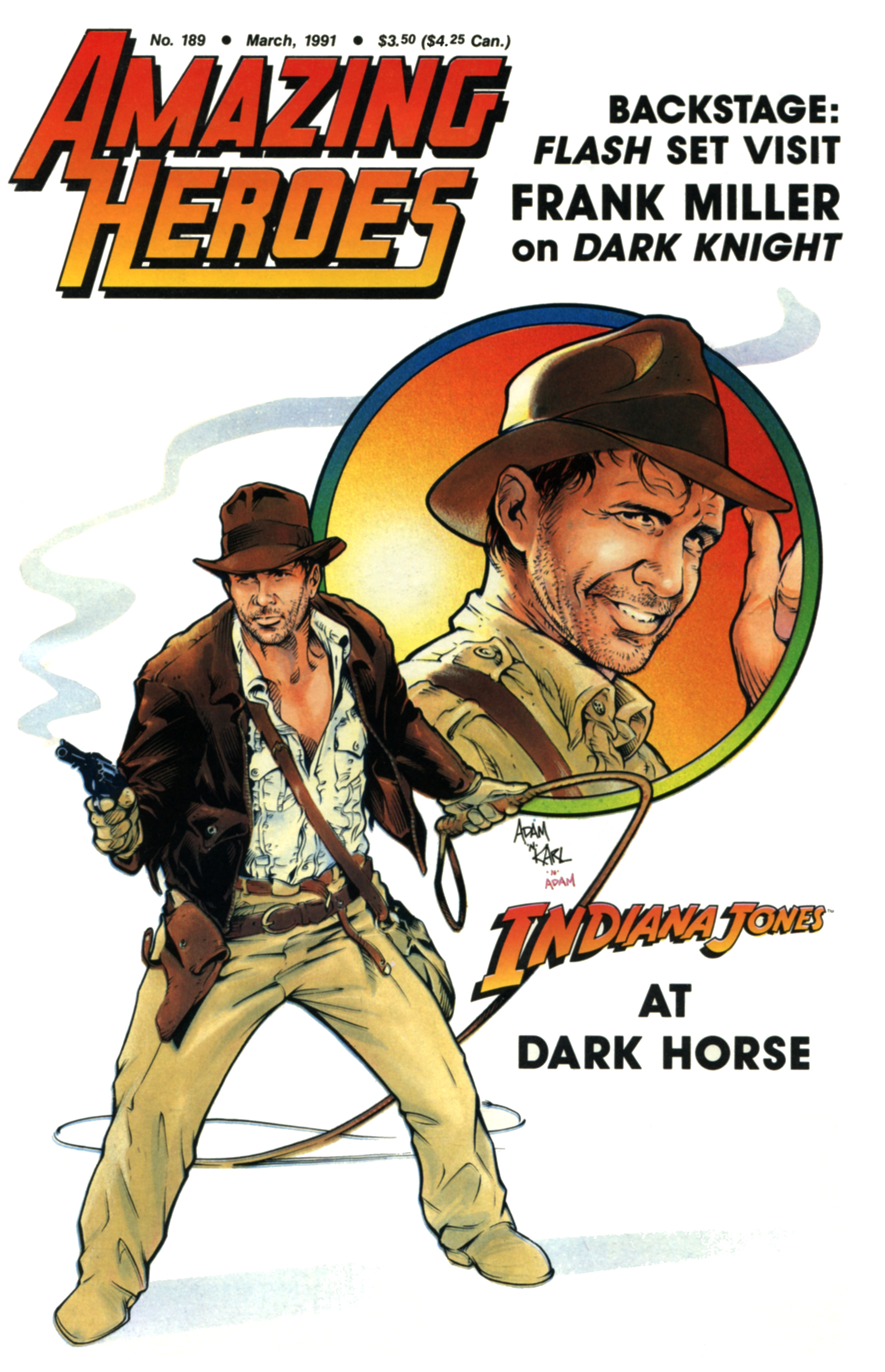 Read online Amazing Heroes comic -  Issue #189 - 1
