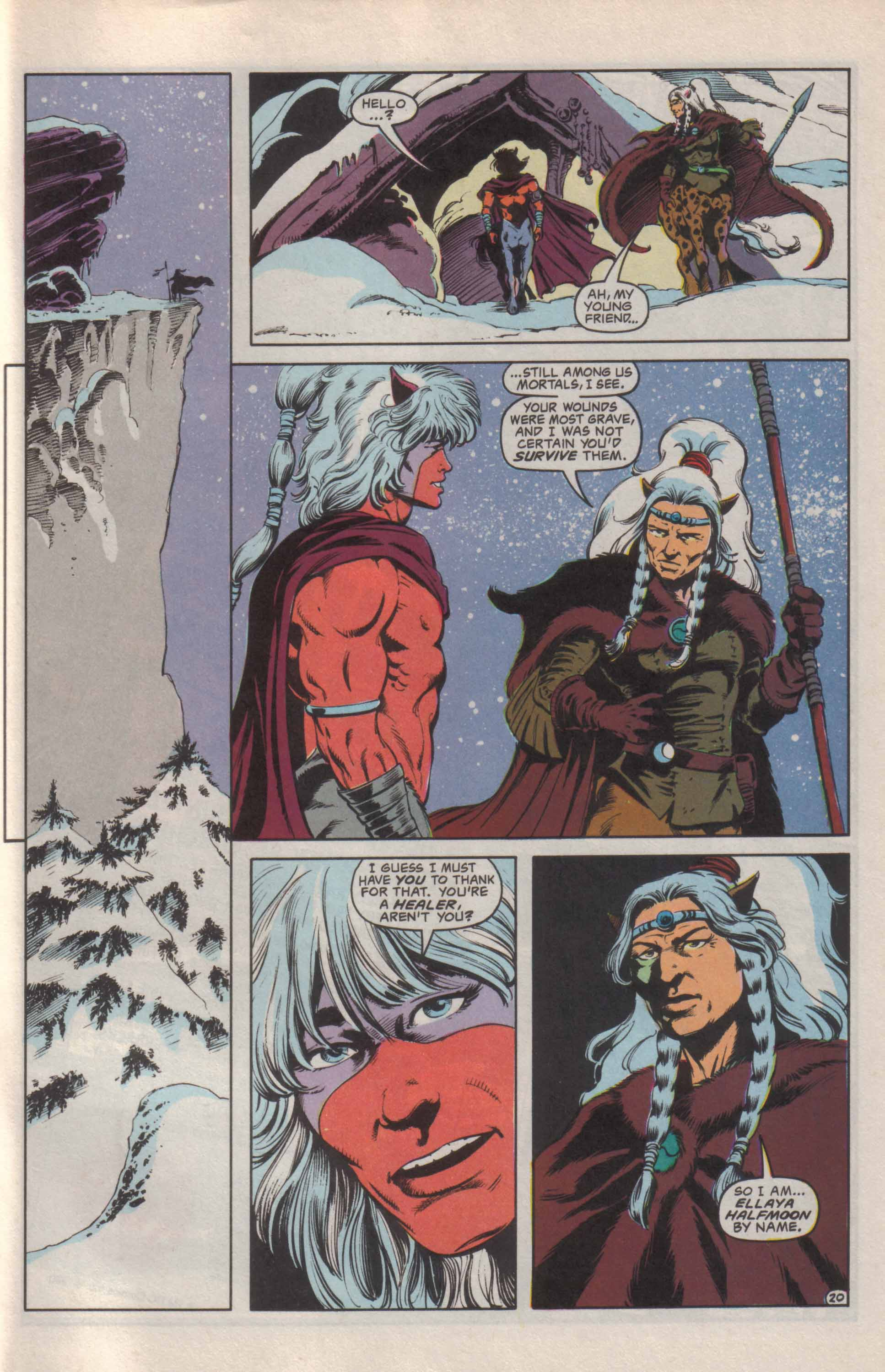 Read online Advanced Dungeons & Dragons comic -  Issue #24 - 21