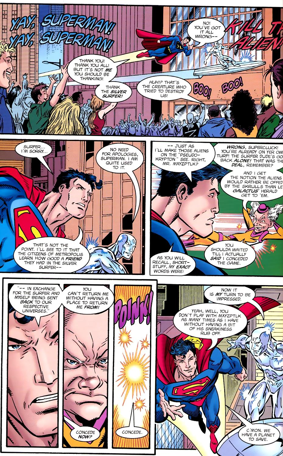 Read online Silver Surfer/Superman comic -  Issue # Full - 44