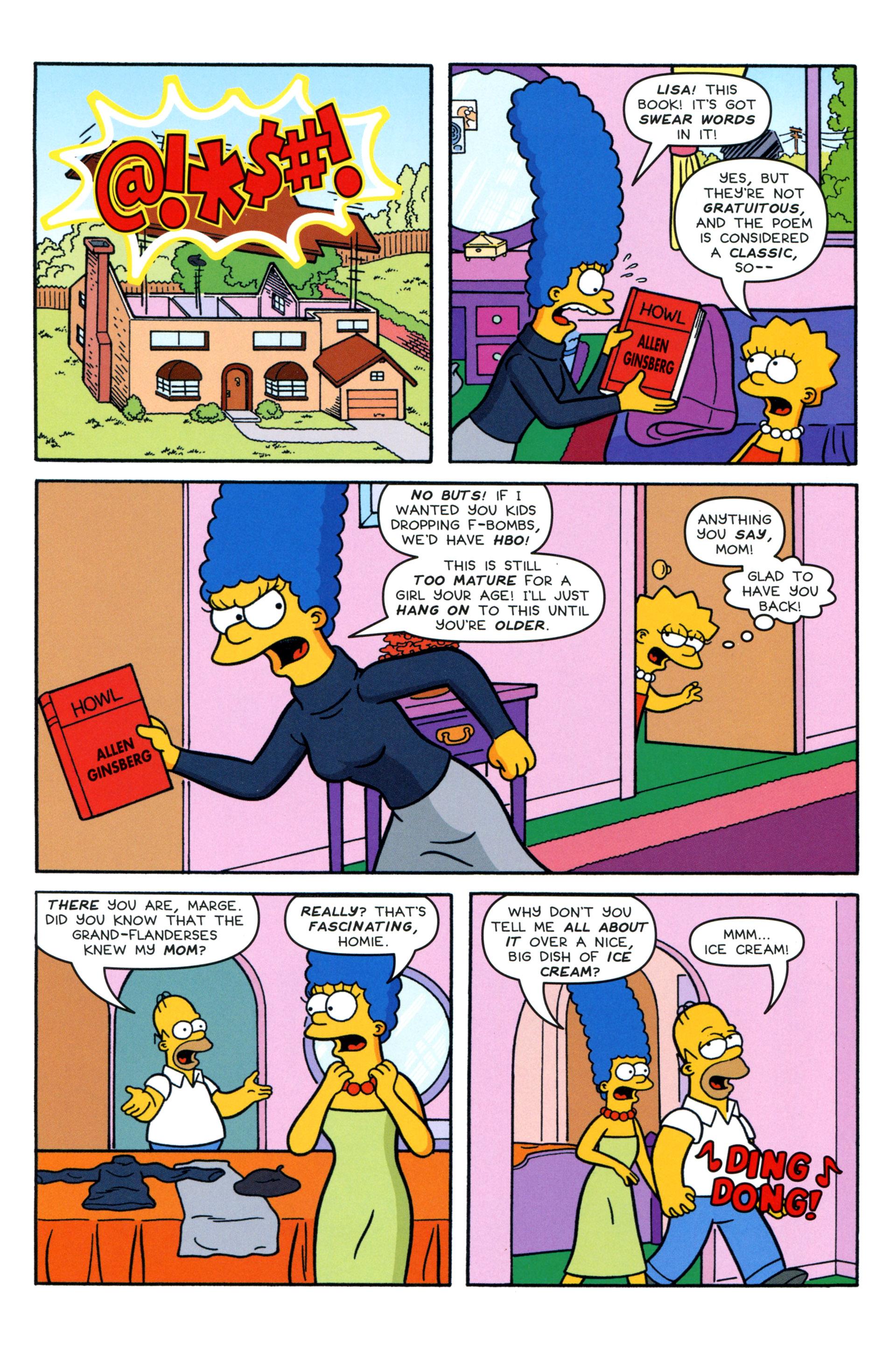Read online Simpsons Comics comic -  Issue #204 - 21