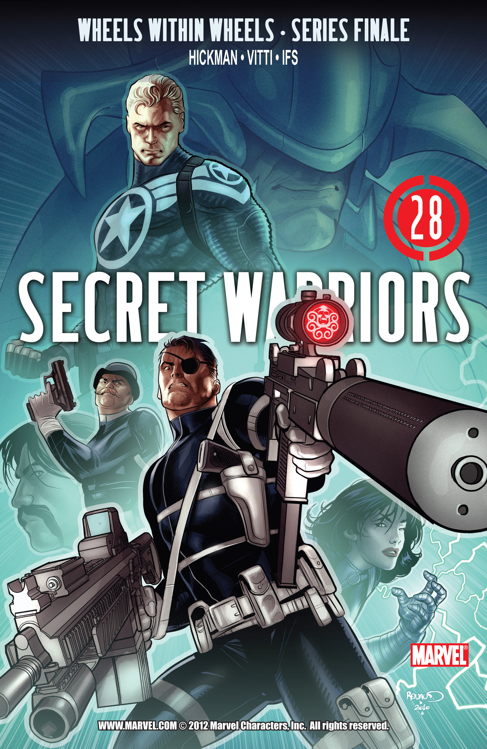 Read online Secret Warriors comic -  Issue #28 - 2