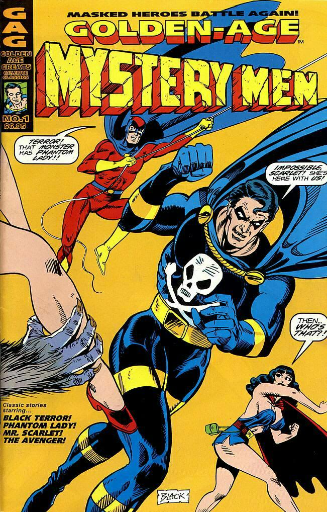 Read online Golden-Age Men of Mystery comic -  Issue #1 - 1