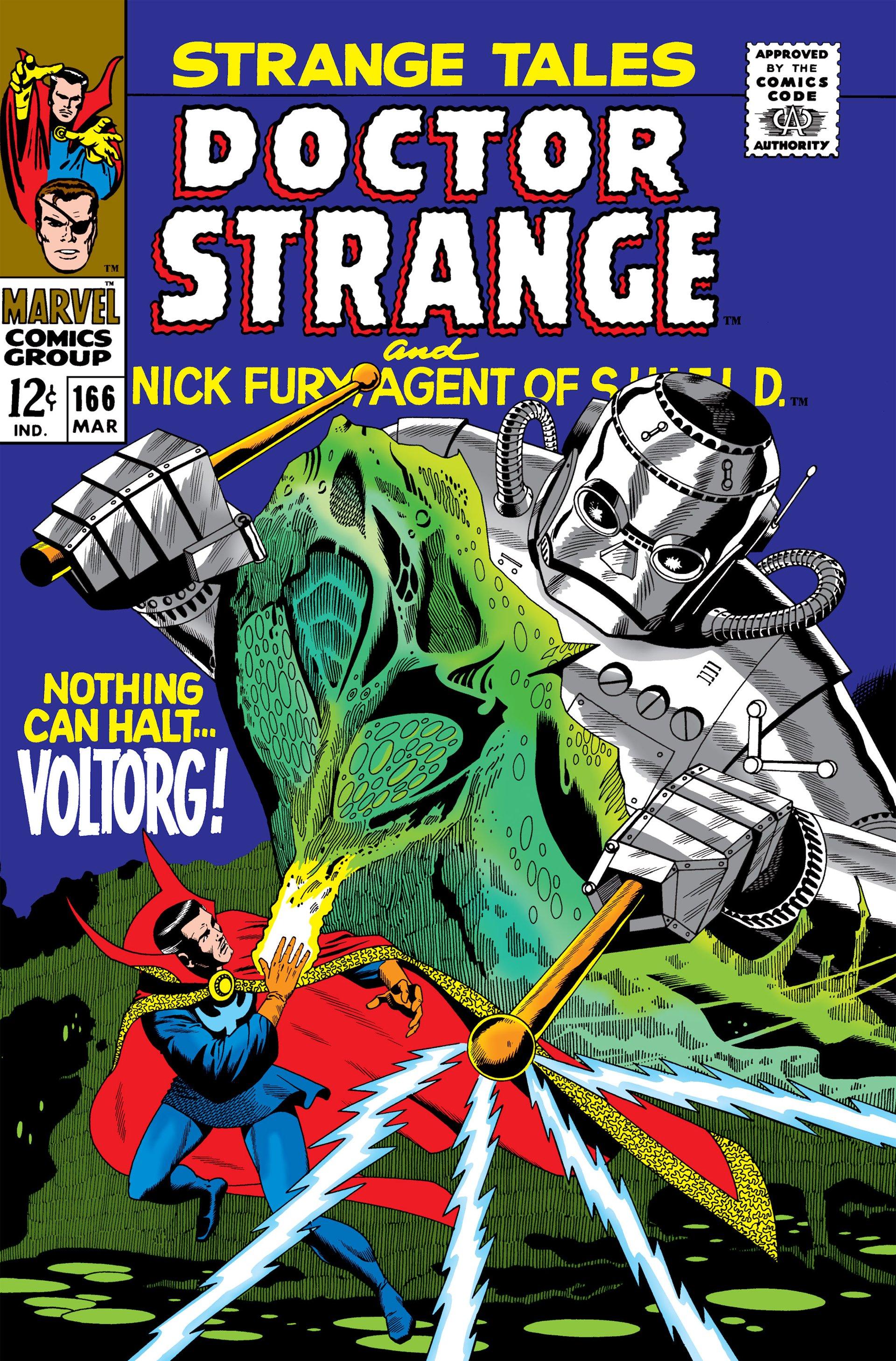 Strange Tales (1951) 166 Page 1