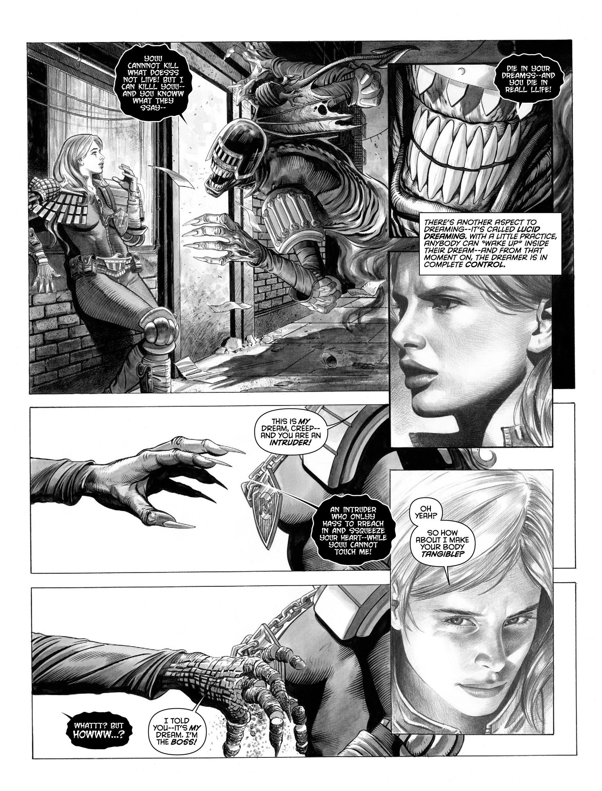 Read online 2000 AD comic -  Issue #2000 - 35