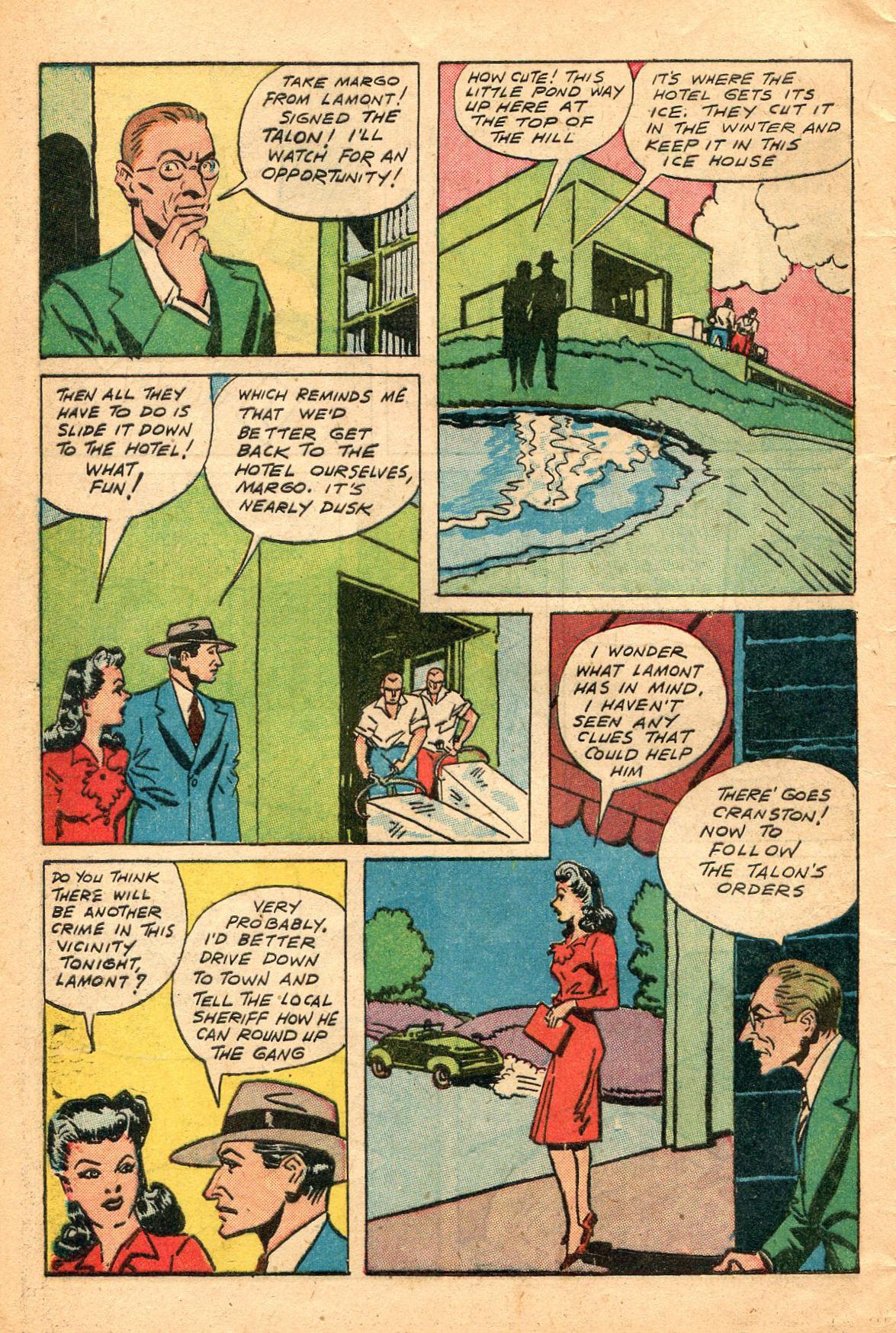 Read online Shadow Comics comic -  Issue #60 - 8
