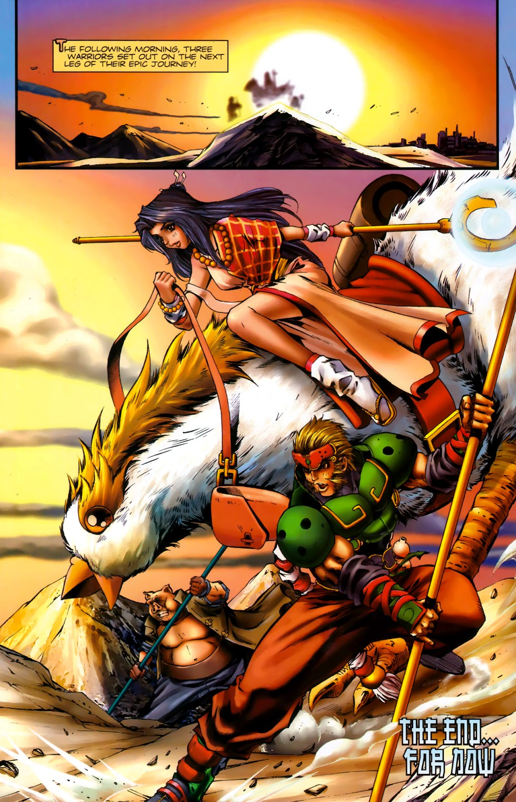 Read online Xin: Journey of the Monkey King comic -  Issue #3 - 25