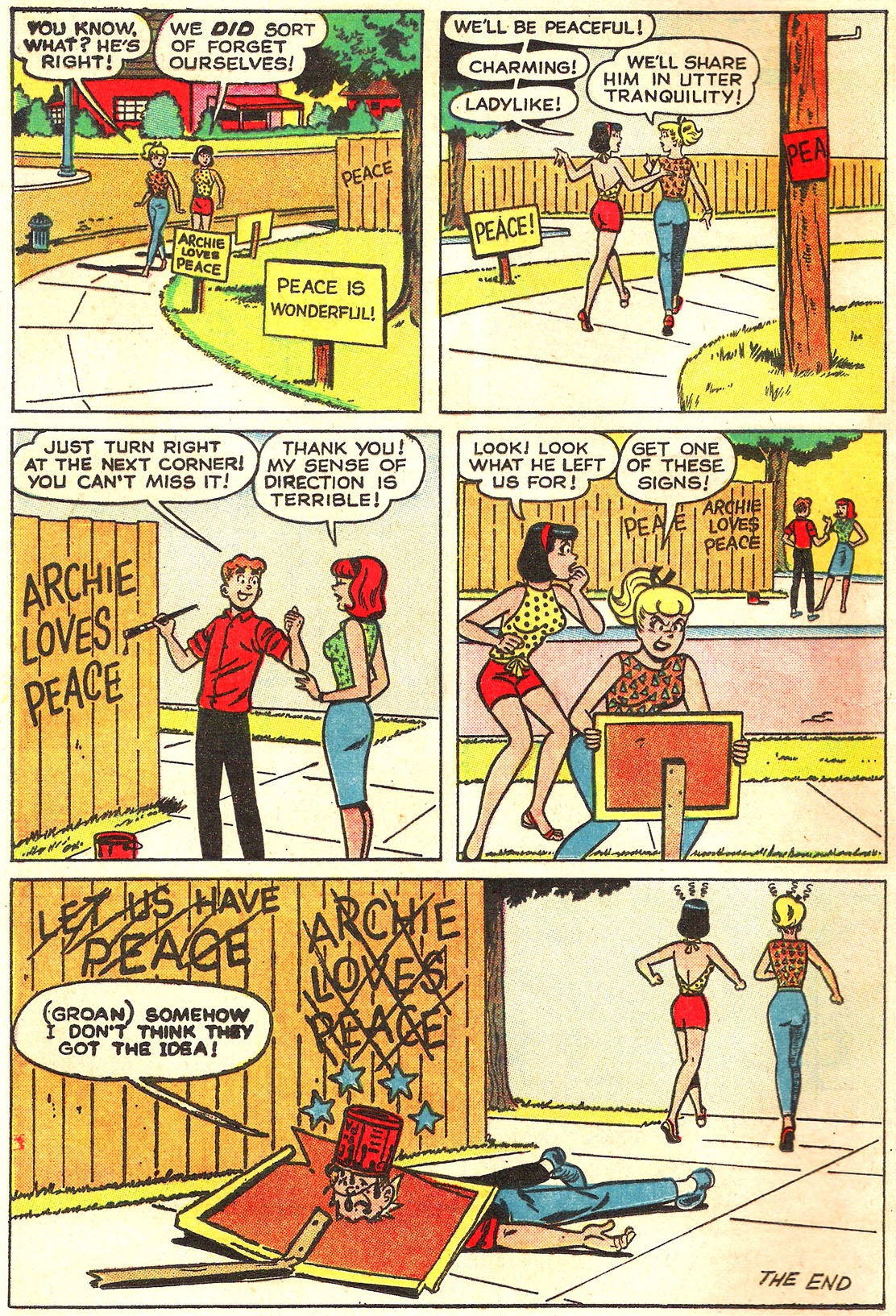 Read online Archie (1960) comic -  Issue #157 - 8