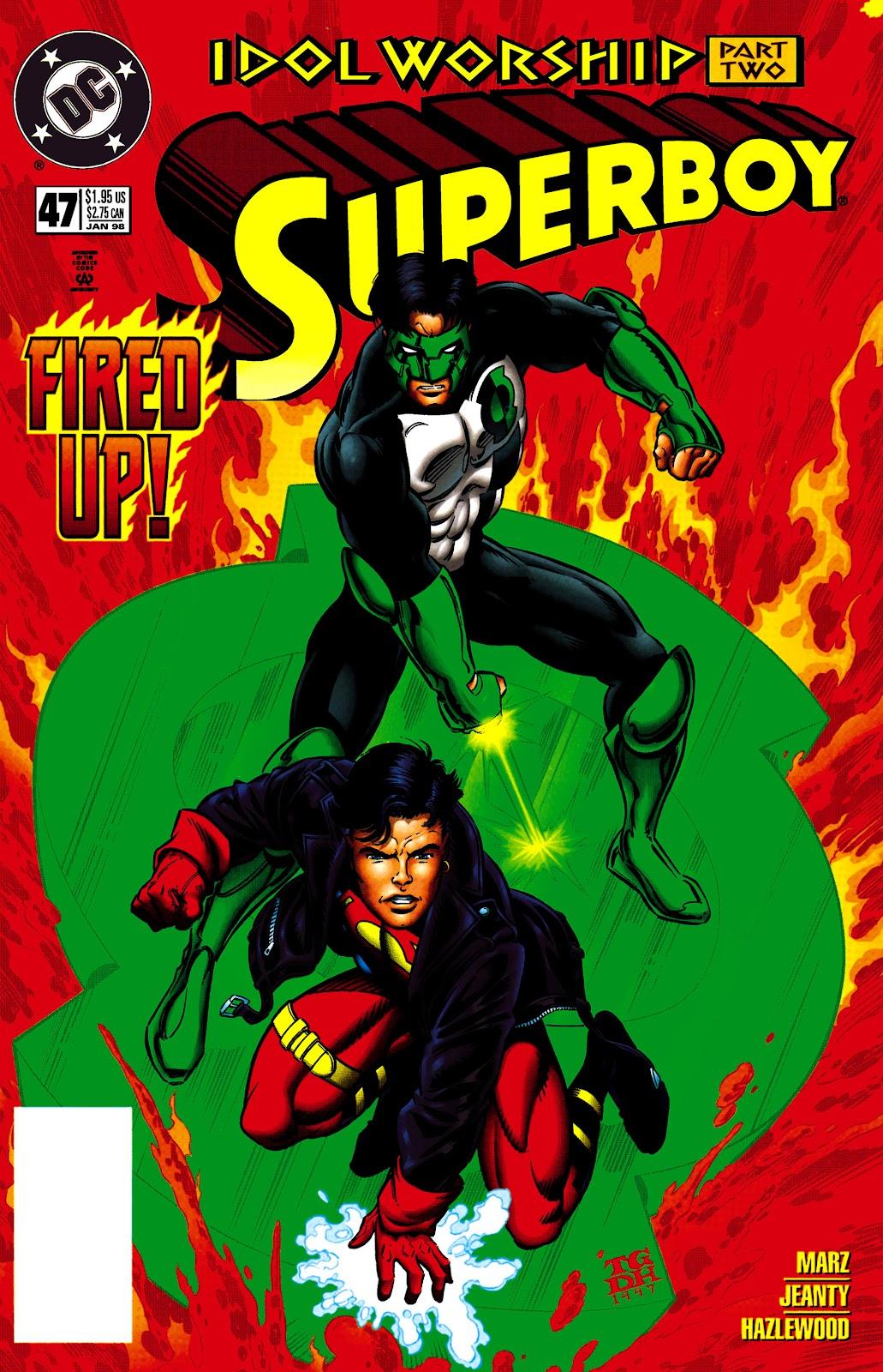 Superboy (1994) 47 Page 1