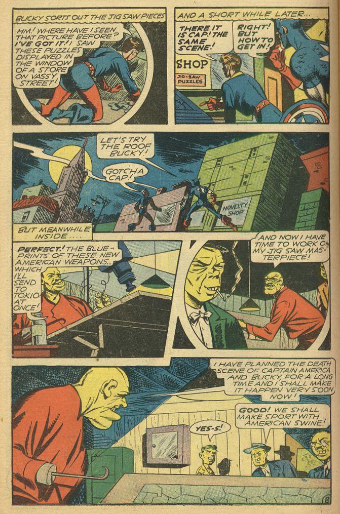 Read online All-Winners Comics comic -  Issue #14 - 21
