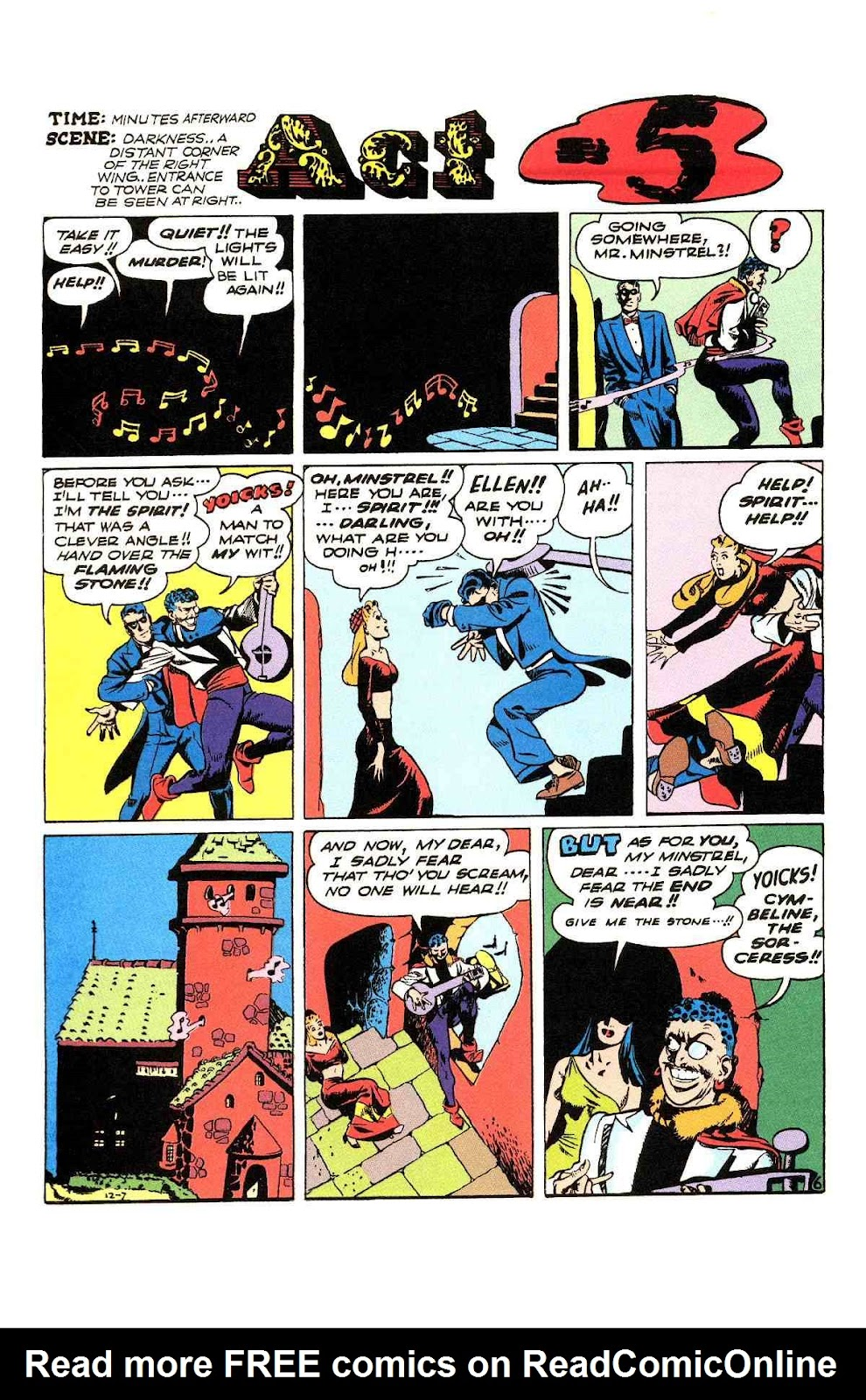 Read online Will Eisner's The Spirit Archives comic -  Issue # TPB 3 (Part 2) - 83