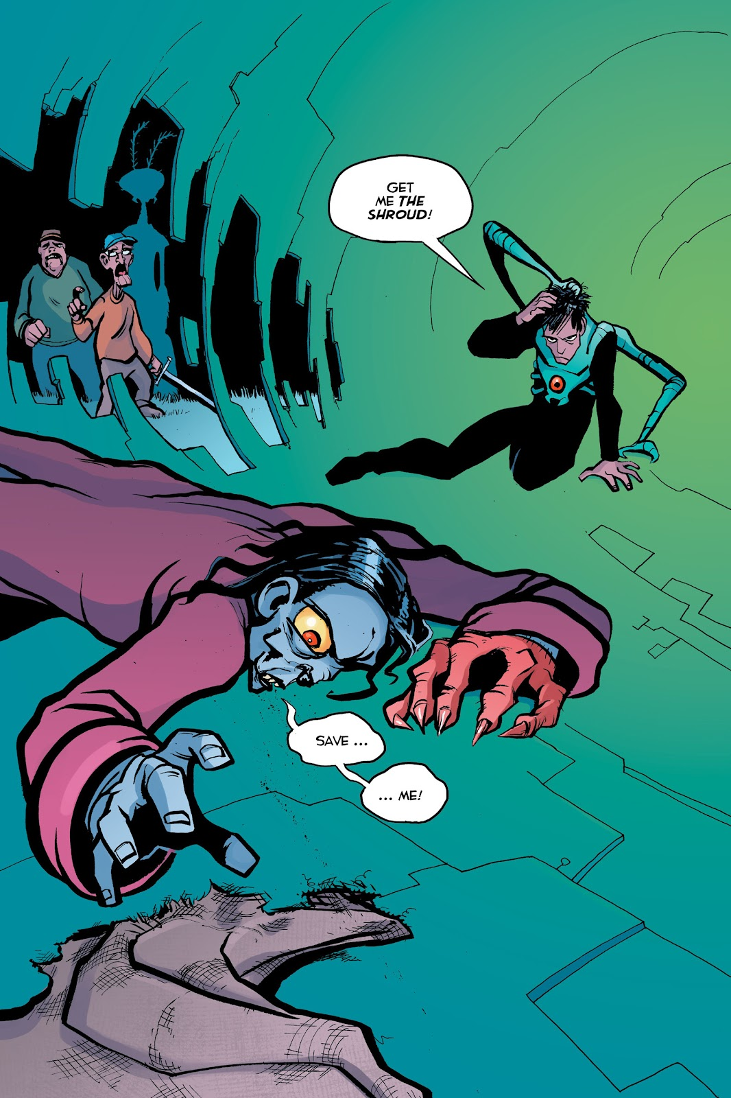 Read online Creature Tech (2019) comic -  Issue # TPB (Part 2) - 98