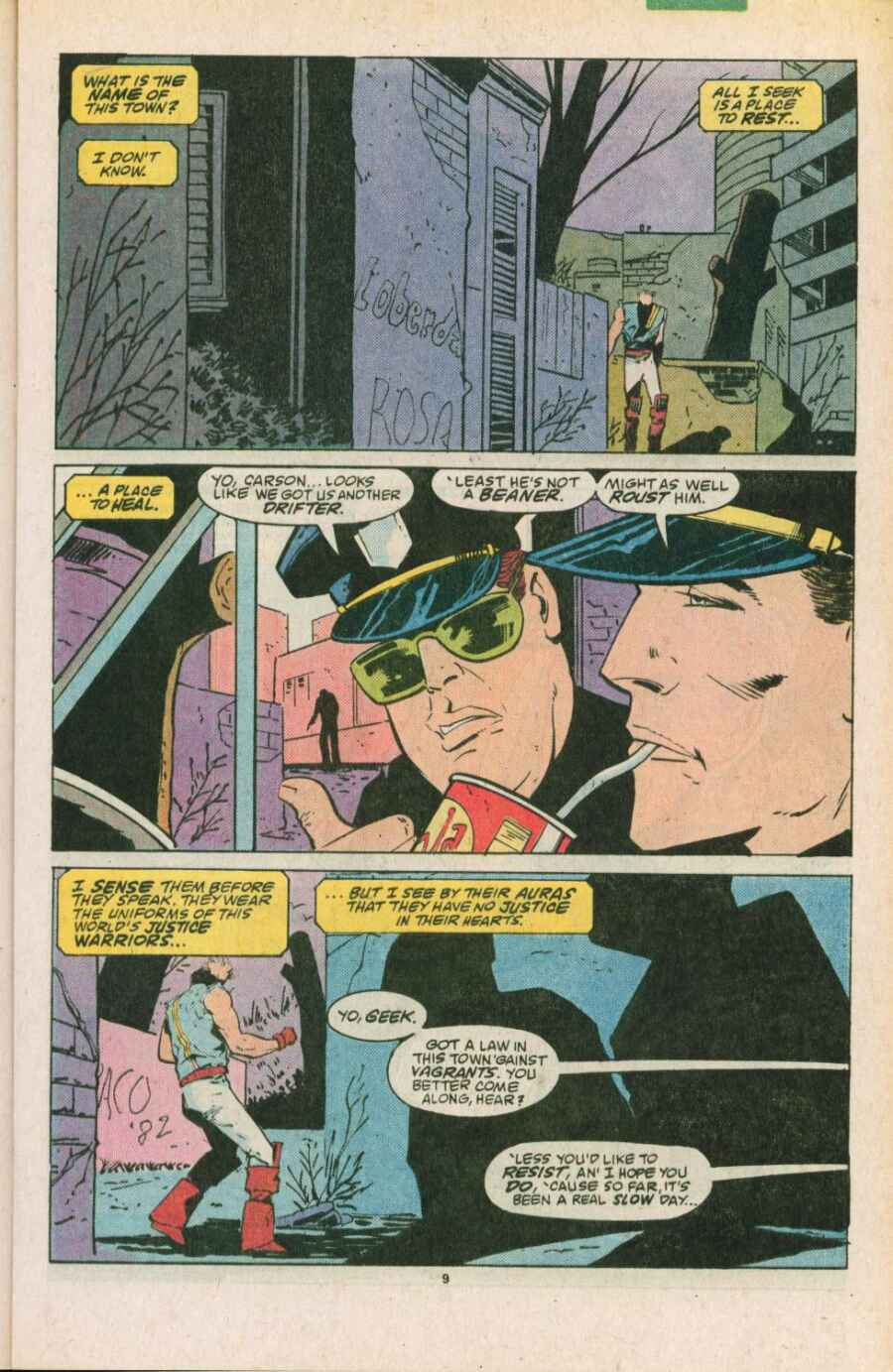 Read online Justice (1986) comic -  Issue #11 - 10