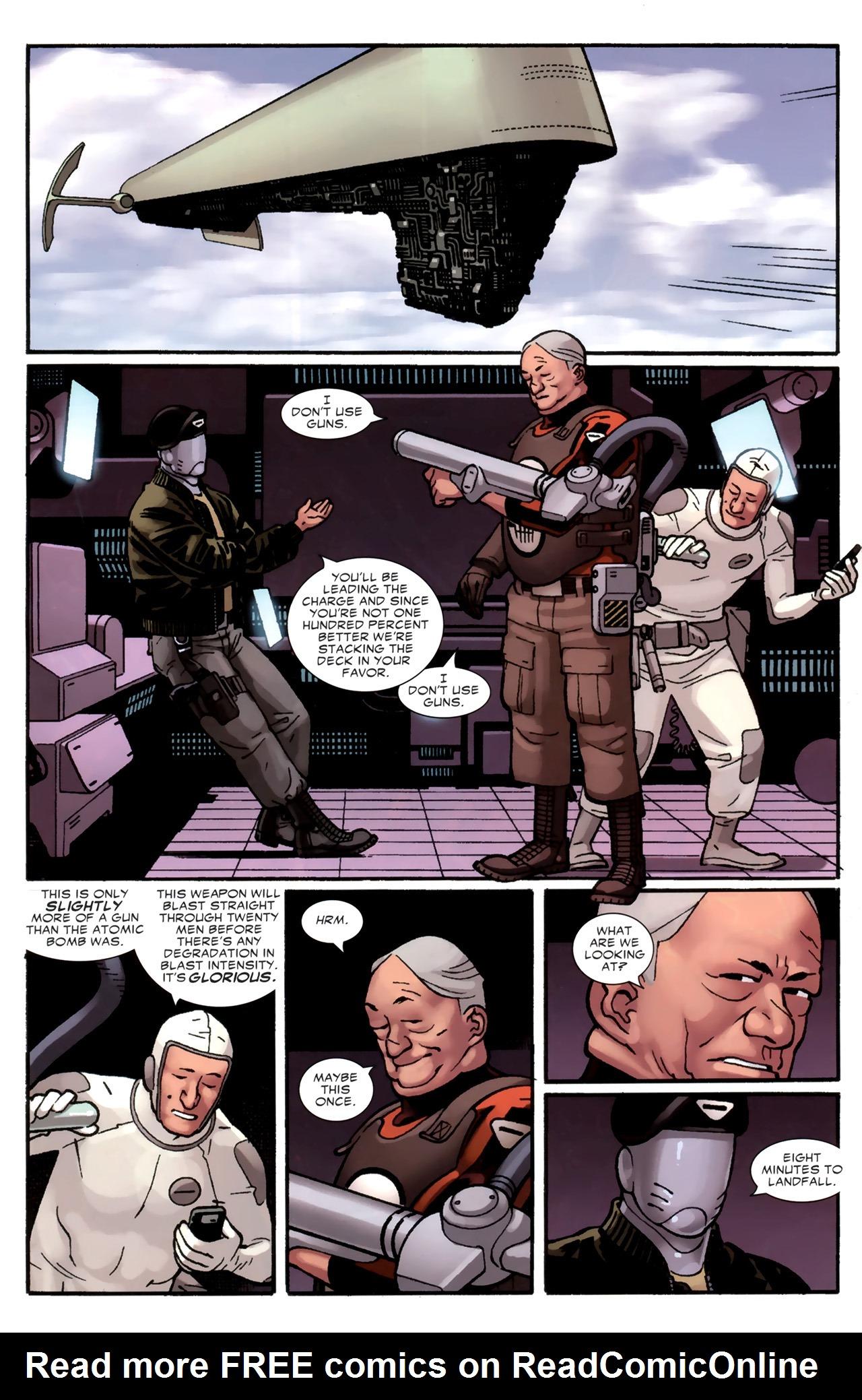 Read online Destroyer comic -  Issue #4 - 5