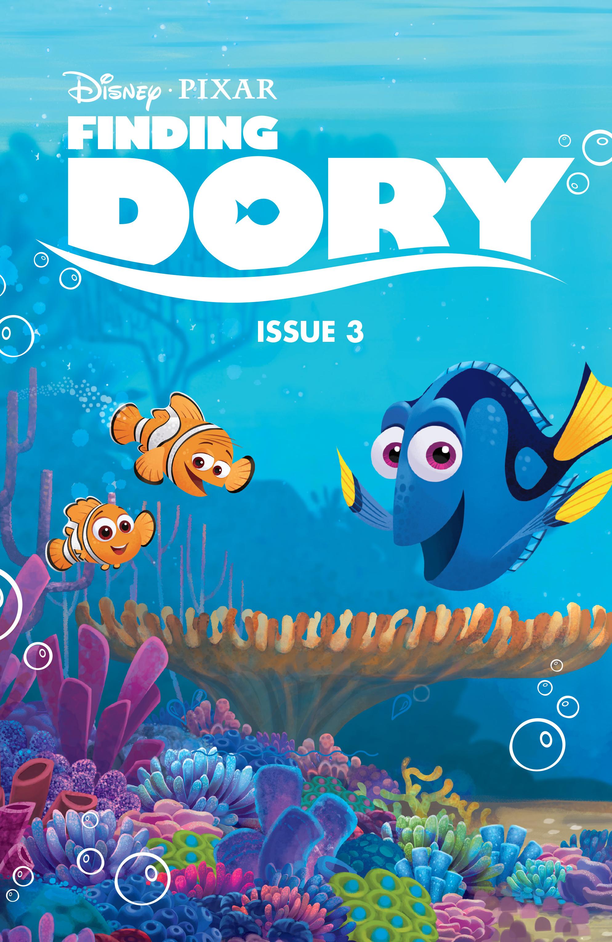 Read online Disney Pixar Finding Dory comic -  Issue #3 - 3