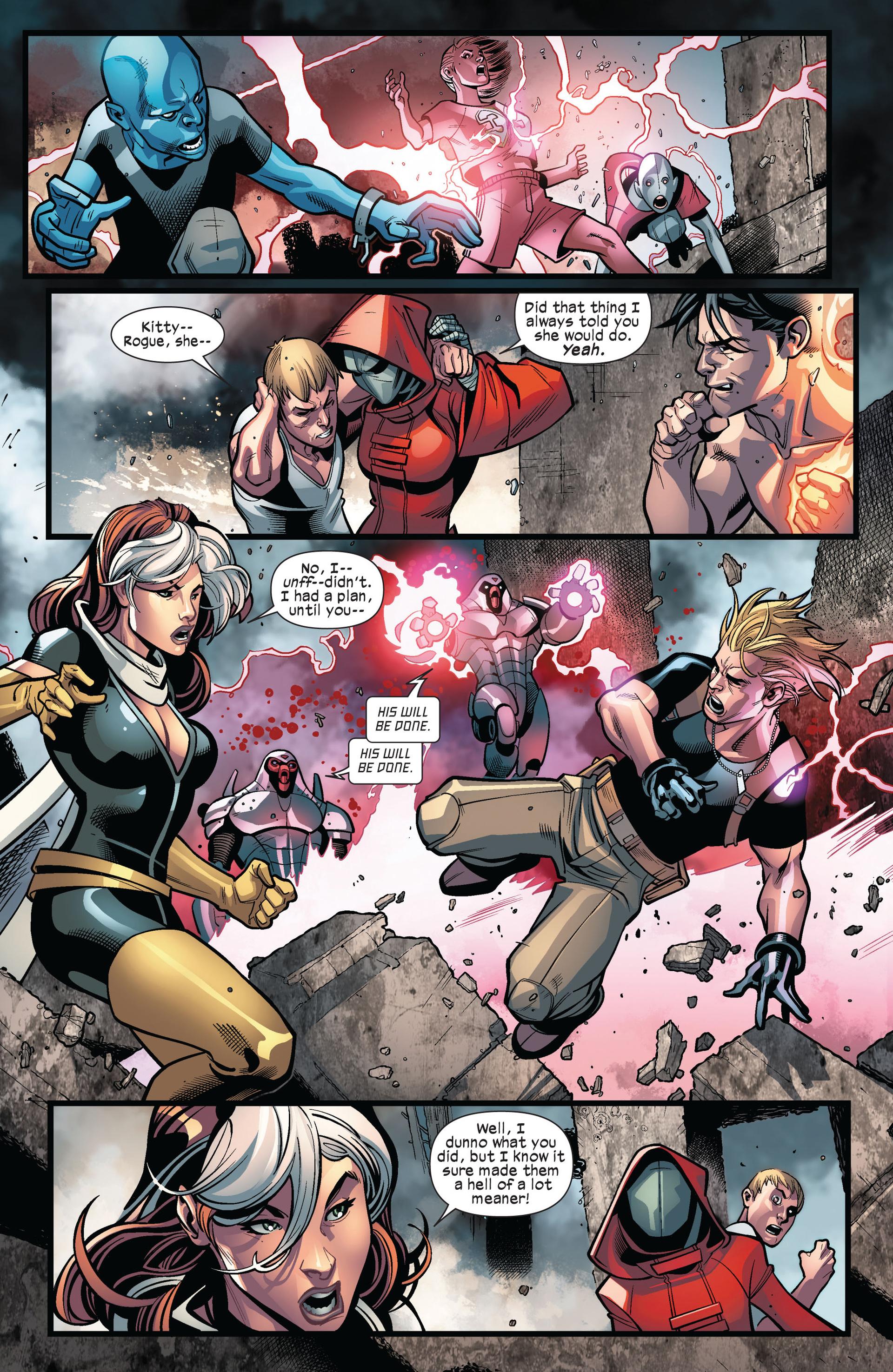 Read online Ultimate Comics X-Men comic -  Issue #6 - 9