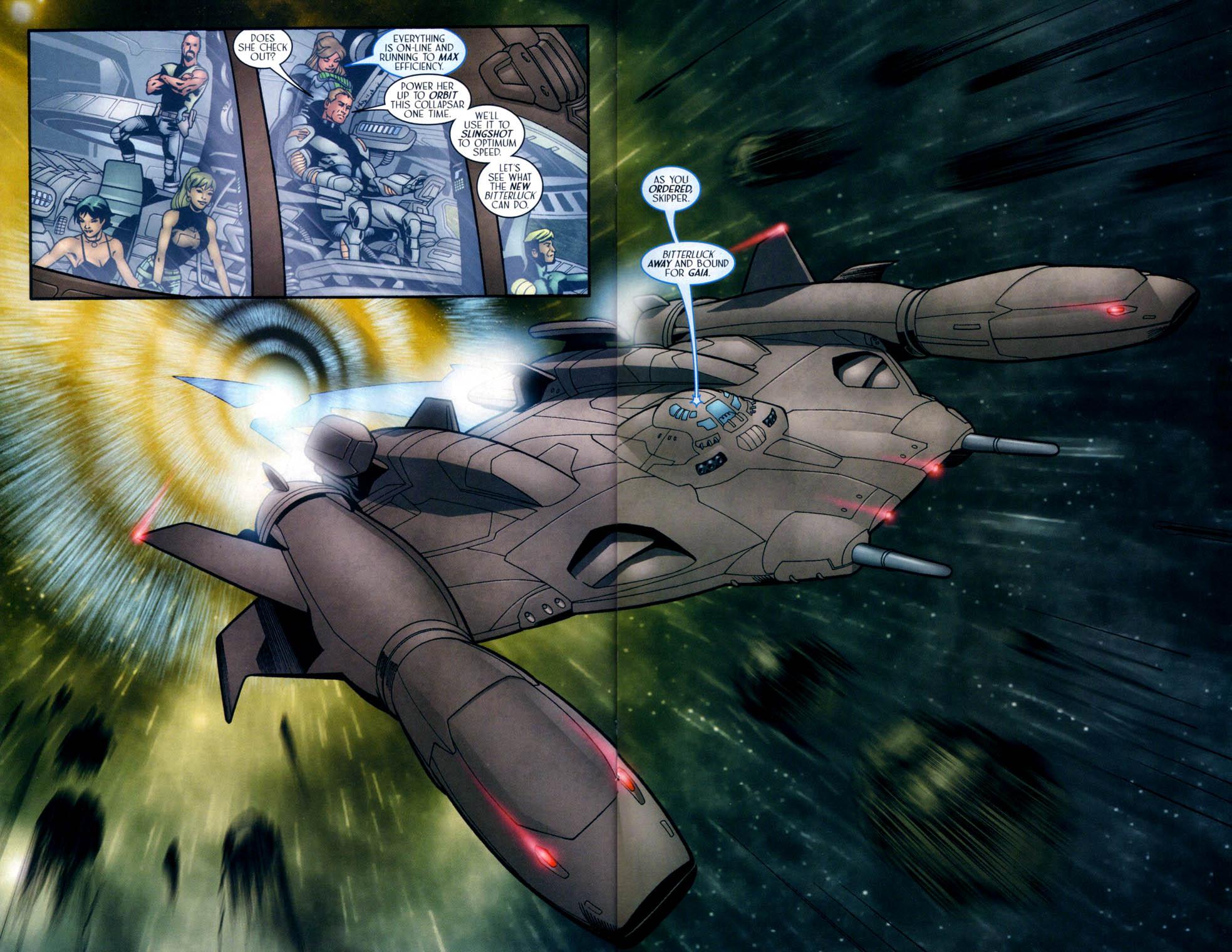 Read online Sigil (2000) comic -  Issue #33 - 20