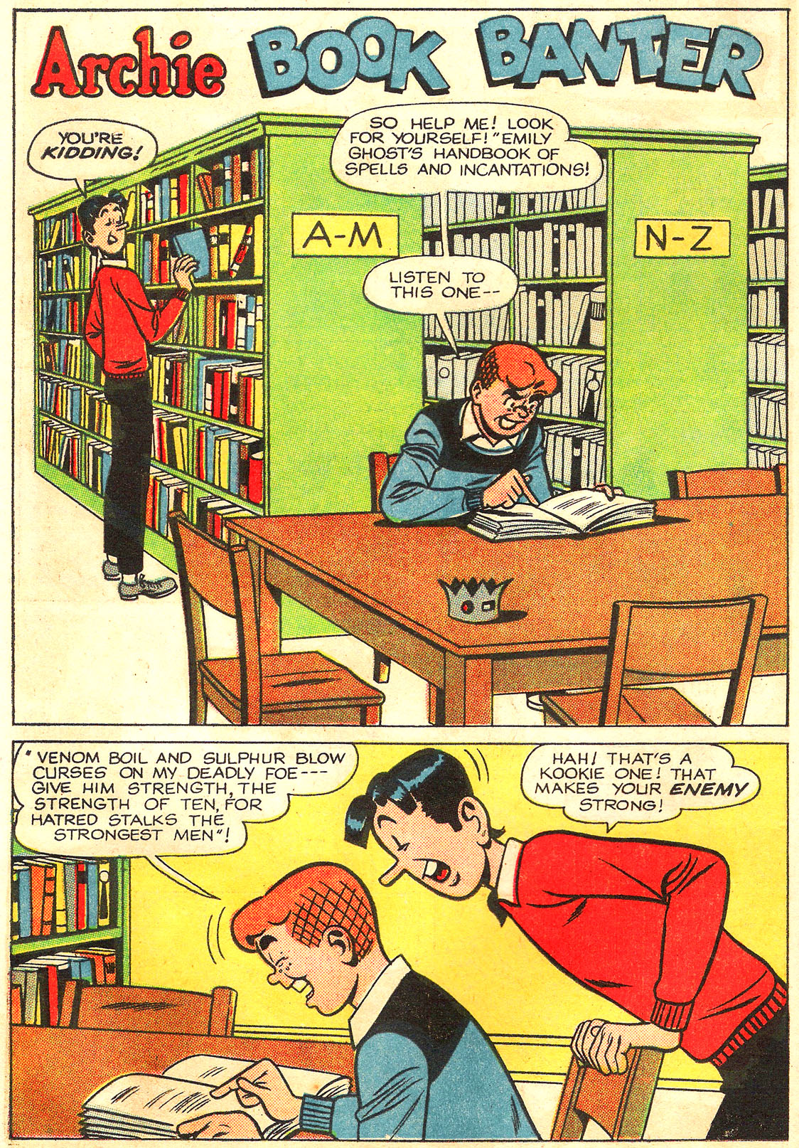 Read online Archie (1960) comic -  Issue #160 - 10