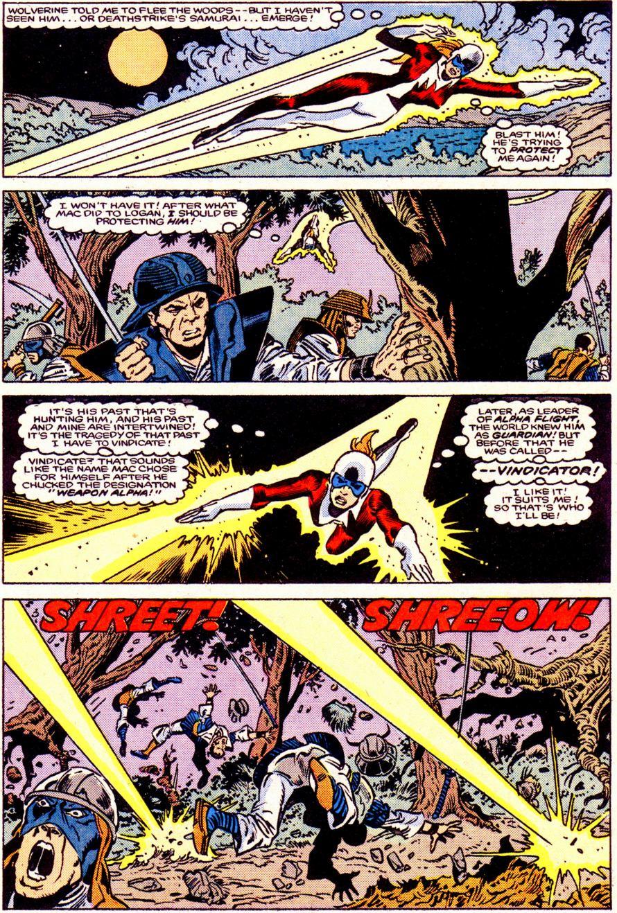 Read online Alpha Flight (1983) comic -  Issue #34 - 16