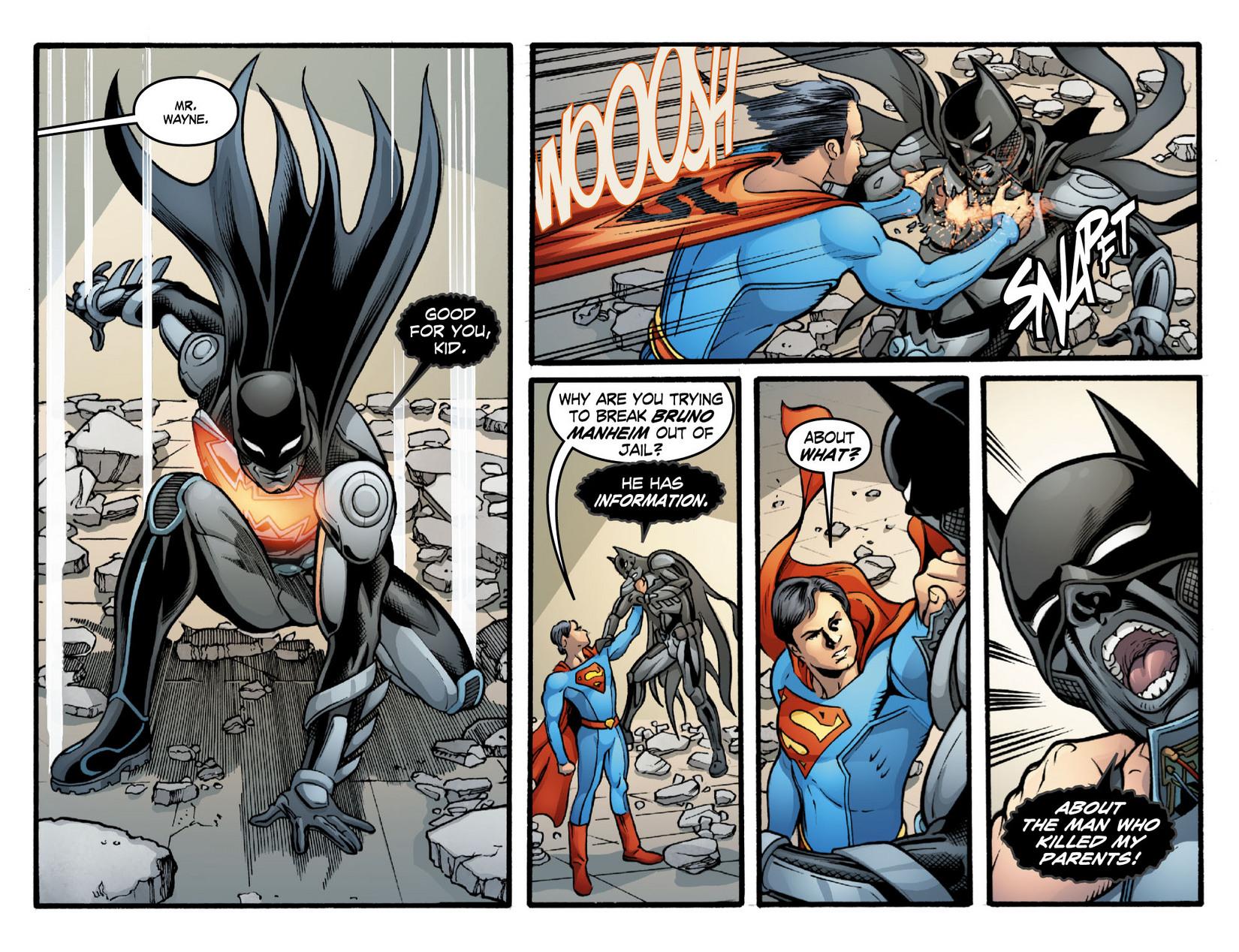 Read online Smallville: Season 11 comic -  Issue #16 - 18