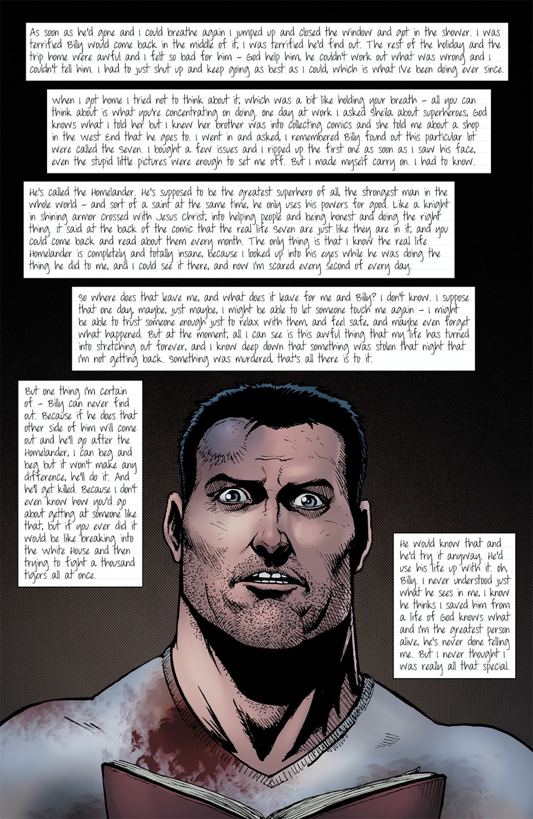 Read online The Boys: Butcher, Baker, Candlestickmaker comic -  Issue #5 - 12