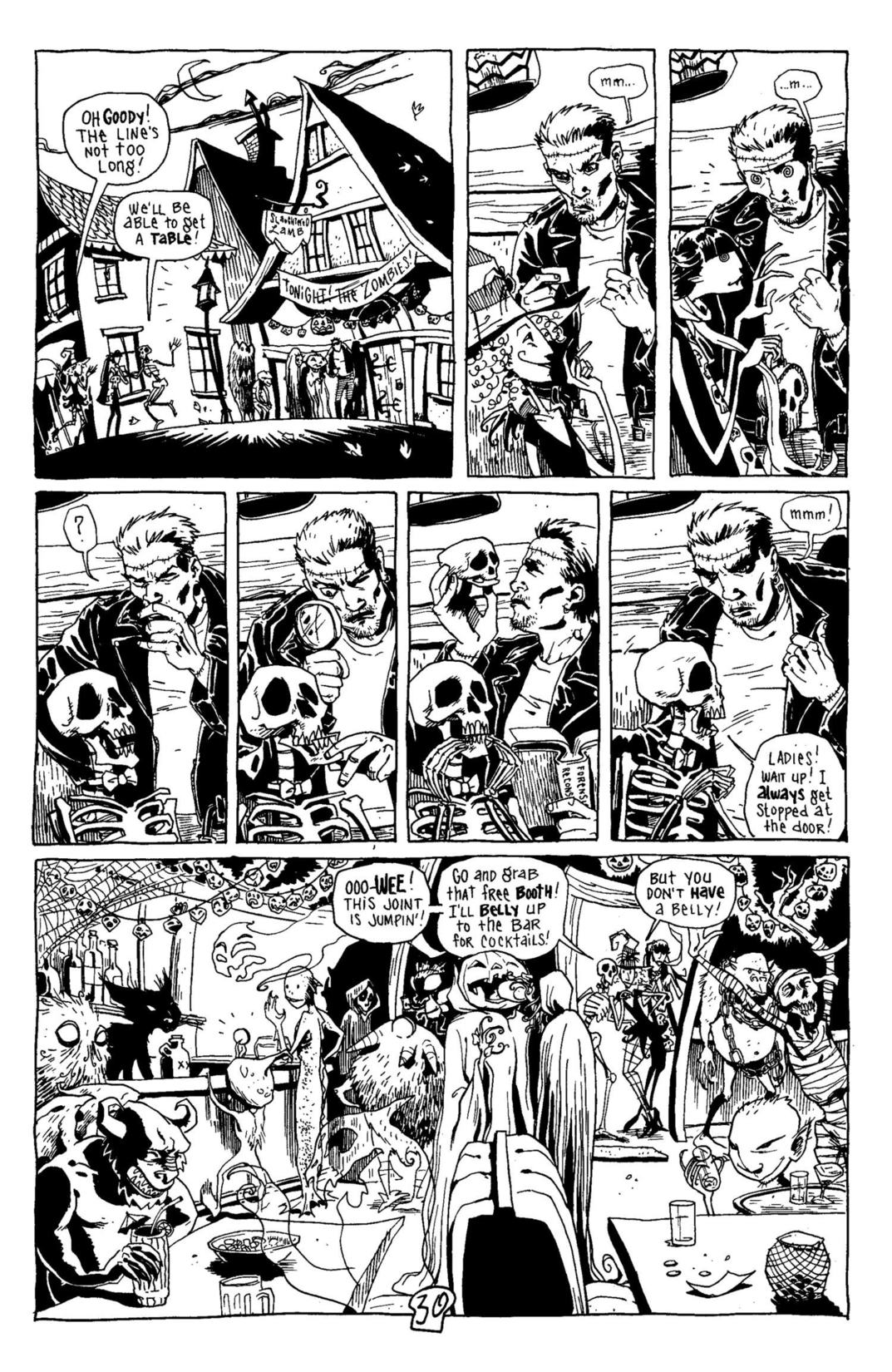 Read online Scary Godmother Comic Book Stories comic -  Issue # TPB - 31