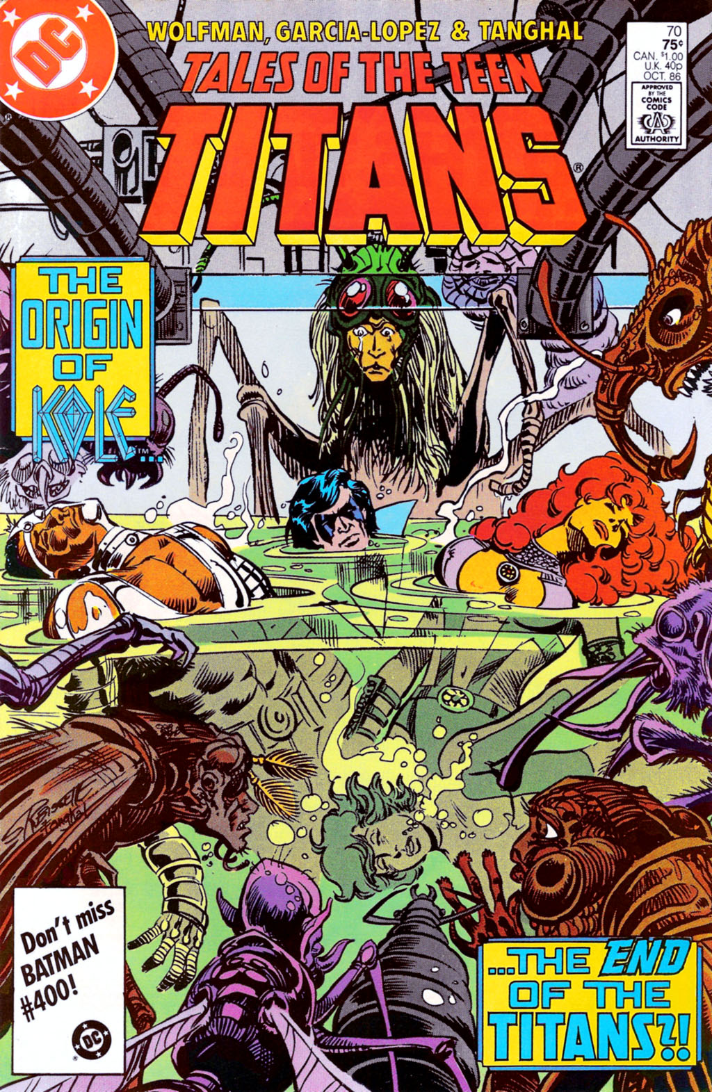Tales of the Teen Titans 70 Page 1