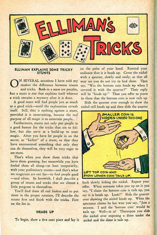 Read online Super-Magician Comics comic -  Issue #55 - 34