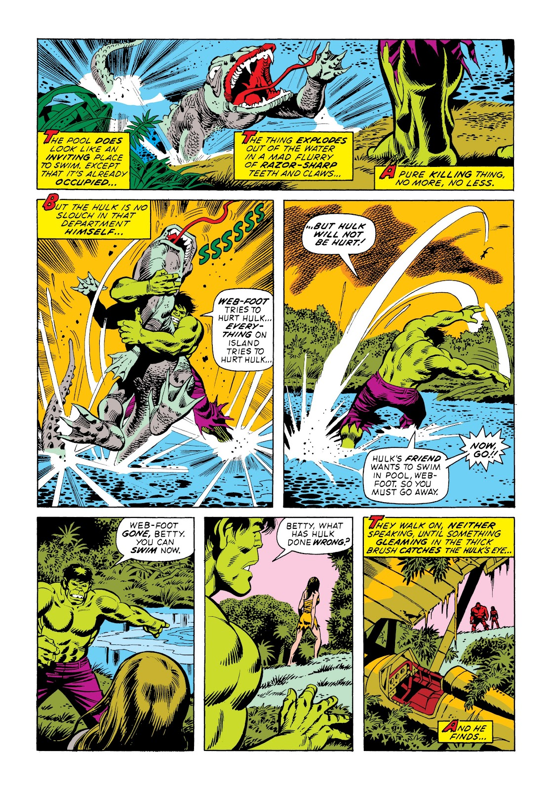 Read online Marvel Masterworks: The Incredible Hulk comic -  Issue # TPB 9 (Part 3) - 89