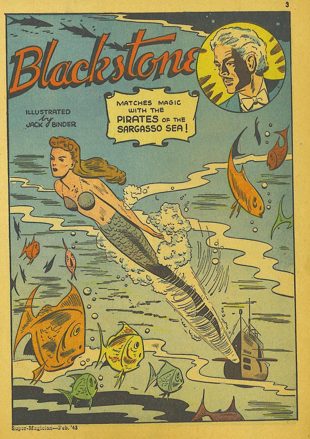 Read online Super-Magician Comics comic -  Issue #10 - 3