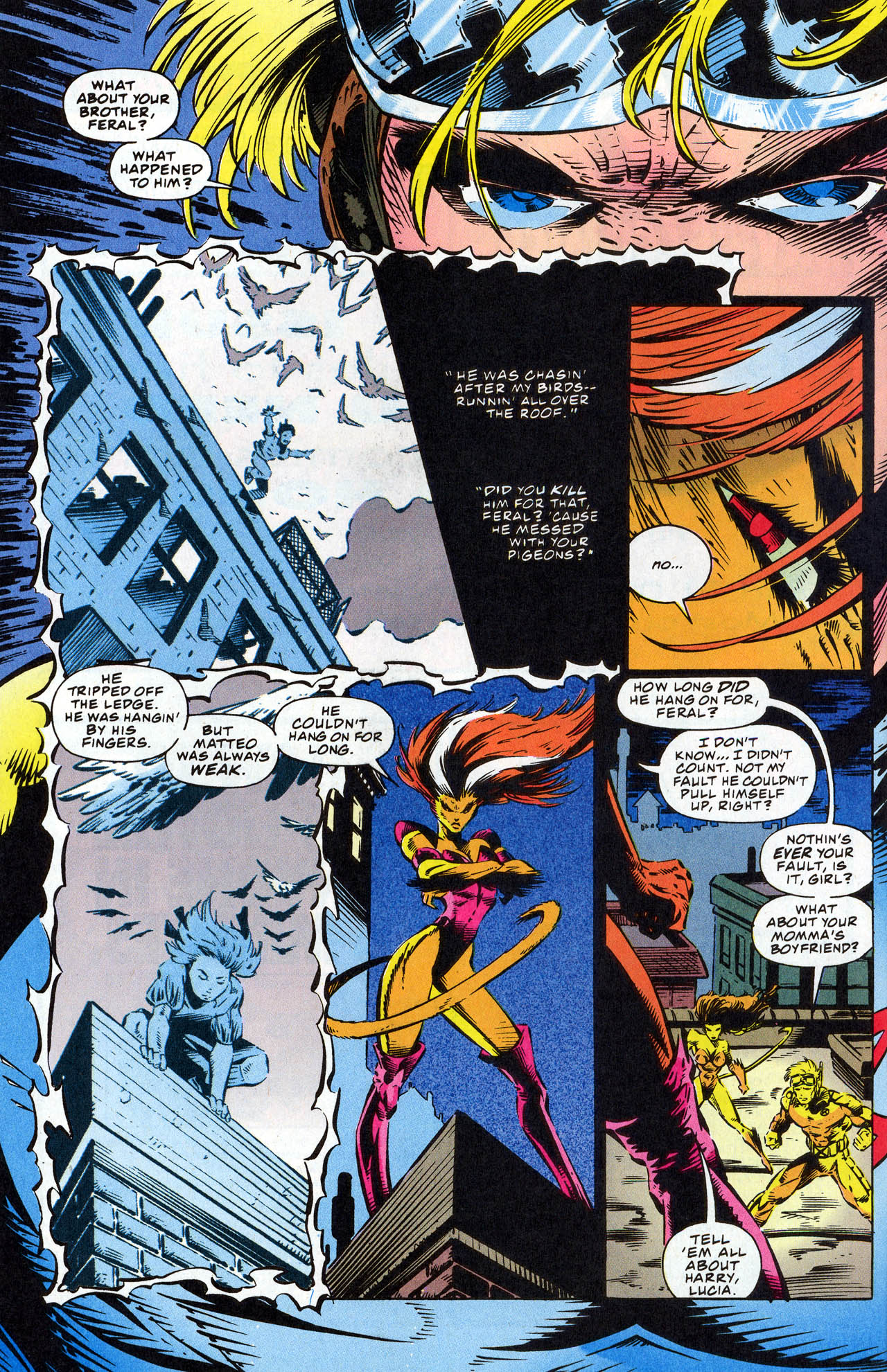 Read online X-Force (1991) comic -  Issue #41 - 24