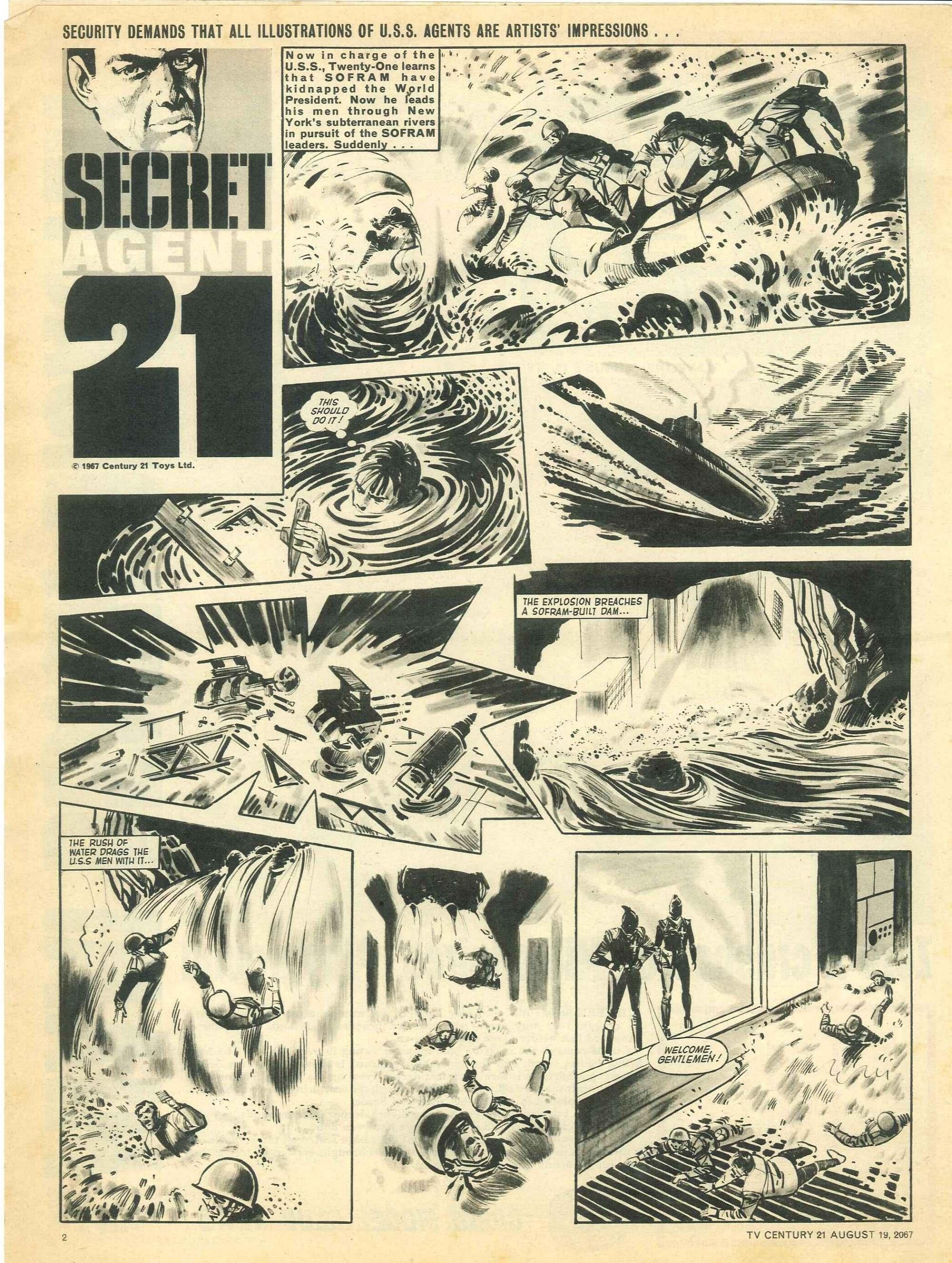 Read online TV Century 21 (TV 21) comic -  Issue #135 - 2