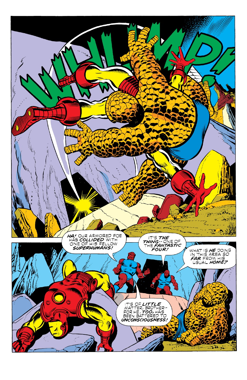 Read online Marvel Two-In-One Epic Collection: Cry Monster comic -  Issue # TPB (Part 1) - 34