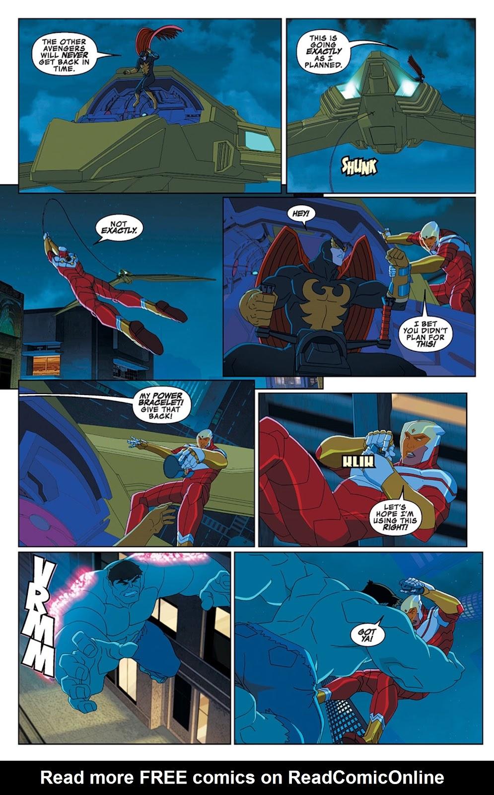 Read online Marvel Universe Avengers Assemble Season 2 comic -  Issue #13 - 17