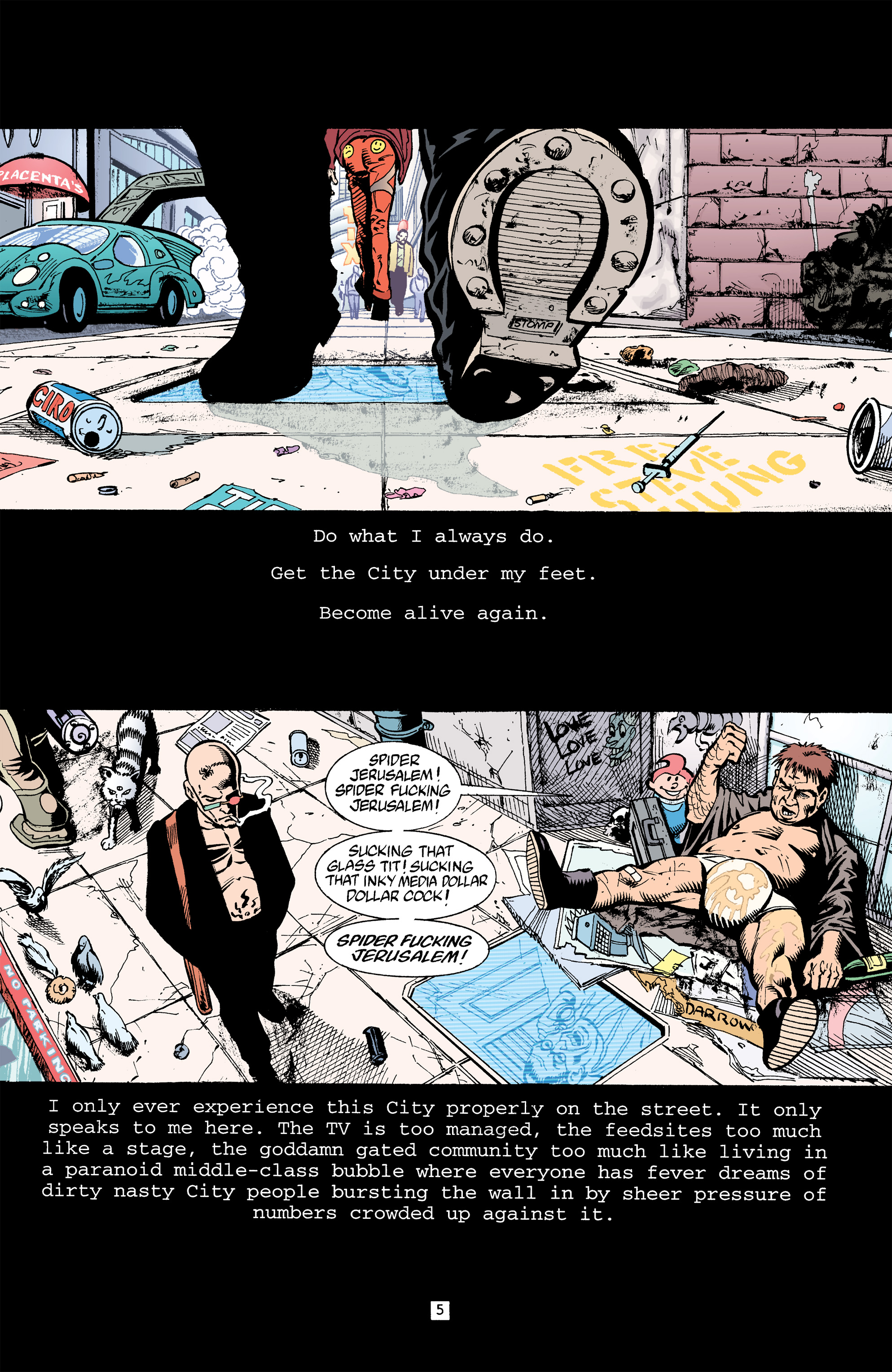 Read online Transmetropolitan comic -  Issue #32 - 6