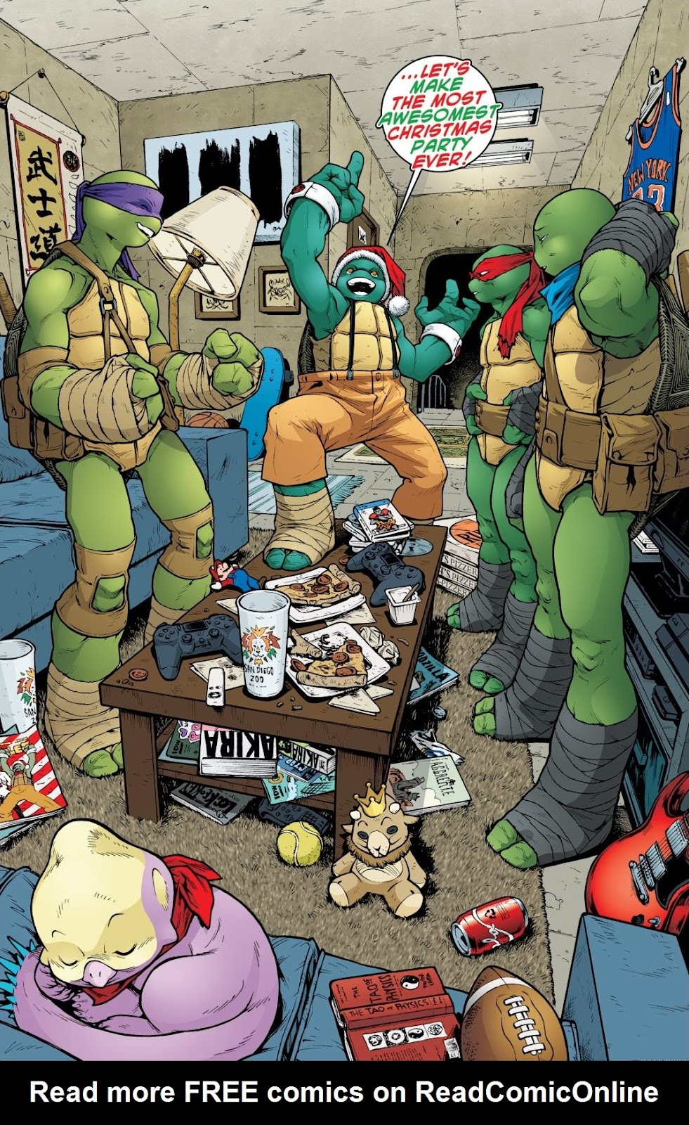 Read online Teenage Mutant Ninja Turtles: The IDW Collection comic -  Issue # TPB 8 (Part 3) - 27