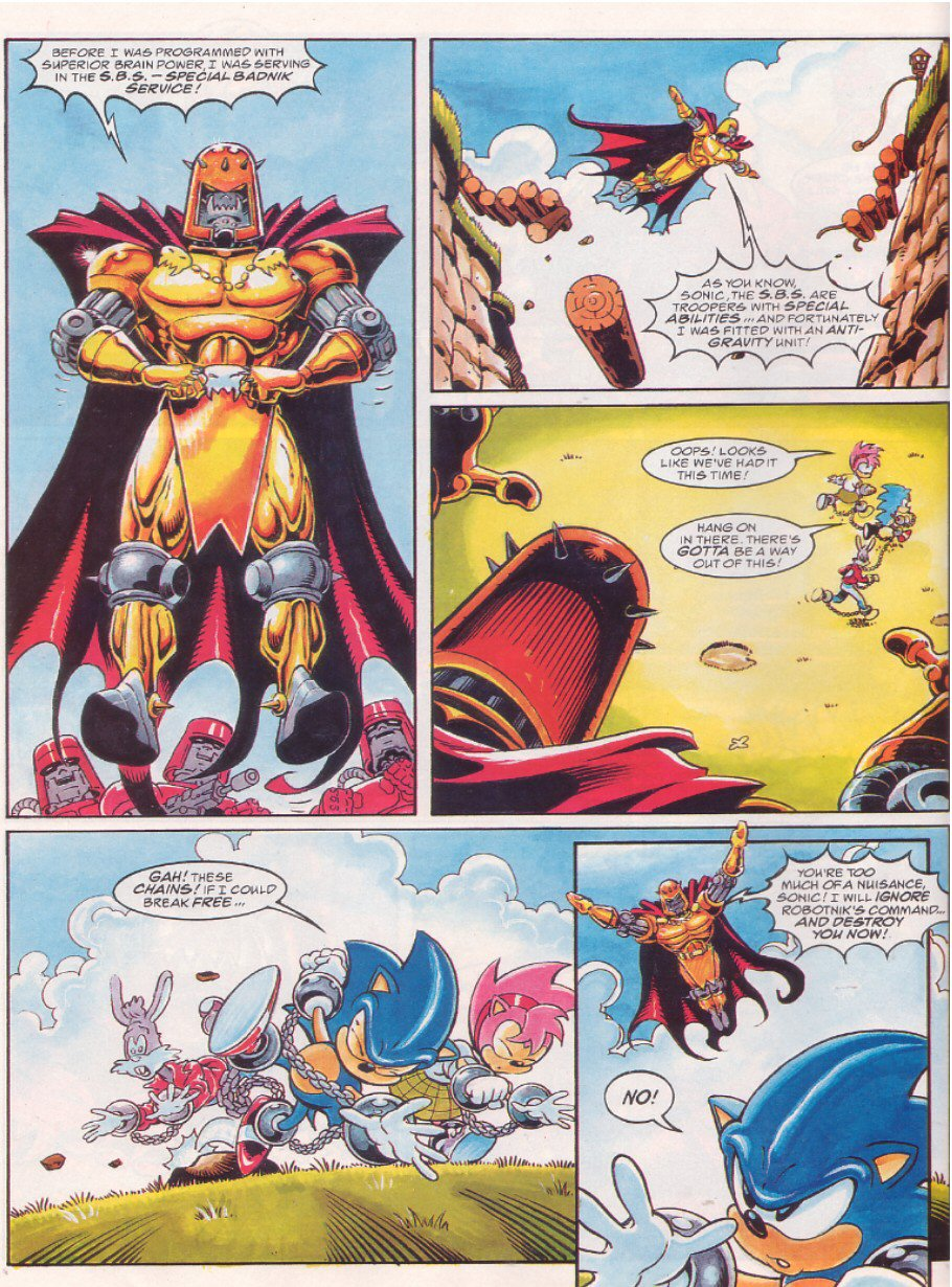 Read online Sonic the Comic comic -  Issue #65 - 8