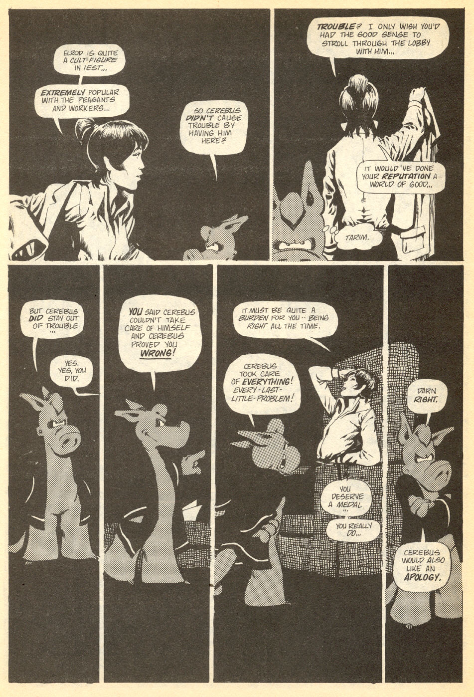 Cerebus Issue #34 #34 - English 15