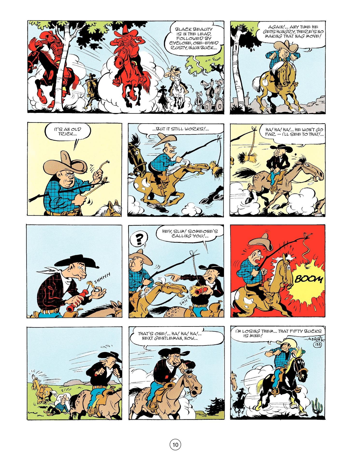Read online A Lucky Luke Adventure comic -  Issue #56 - 10