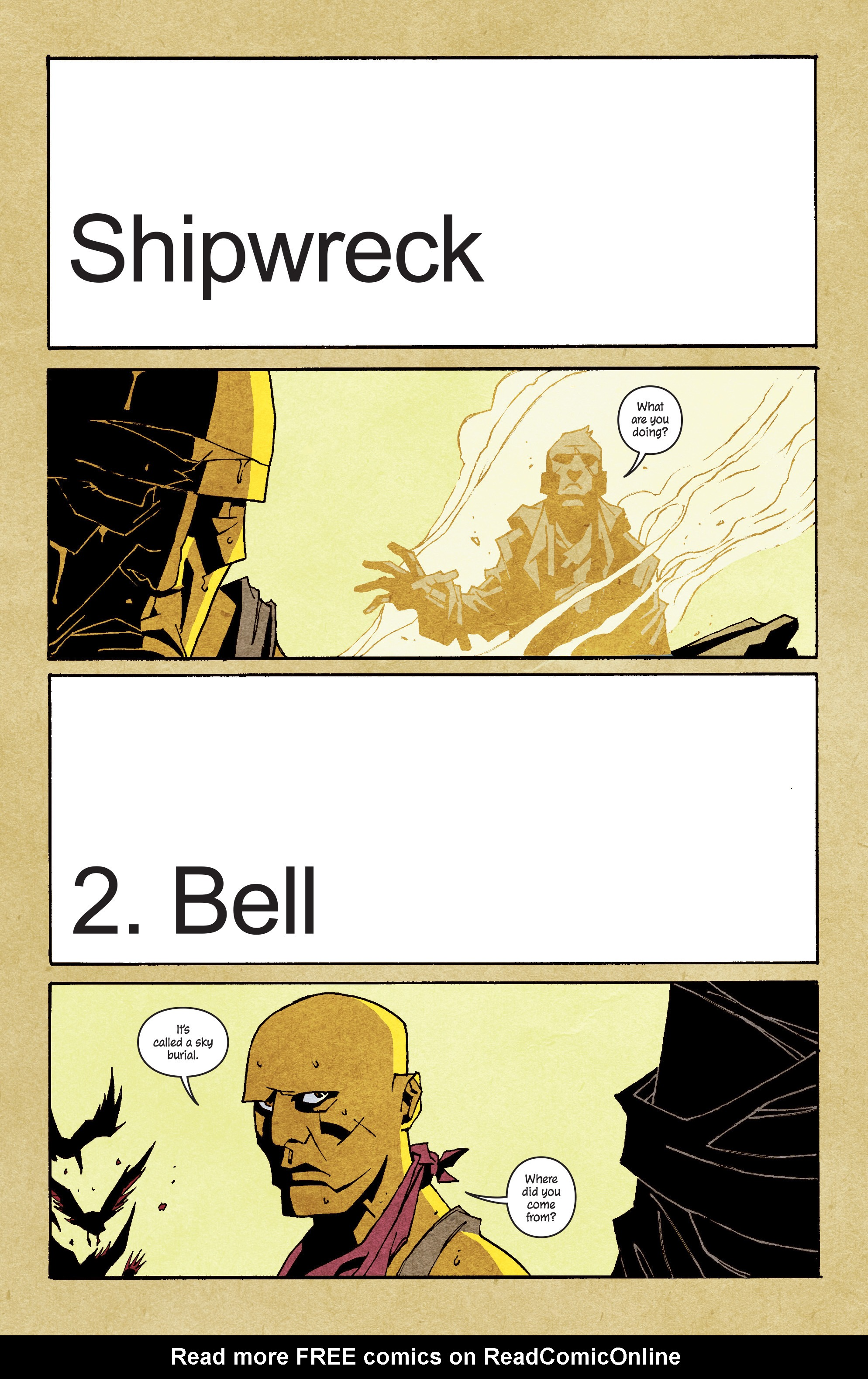 Read online Shipwreck comic -  Issue #2 - 8