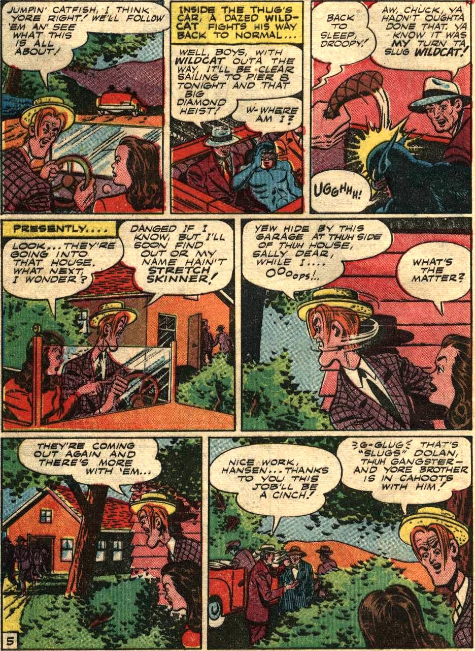 Read online Sensation (Mystery) Comics comic -  Issue #58 - 46