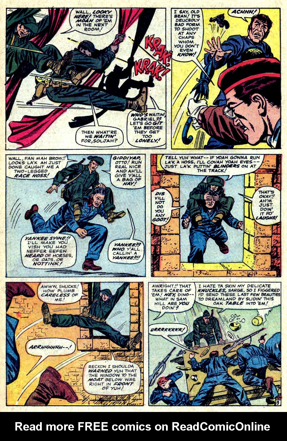 Read online Sgt. Fury comic -  Issue #20 - 14