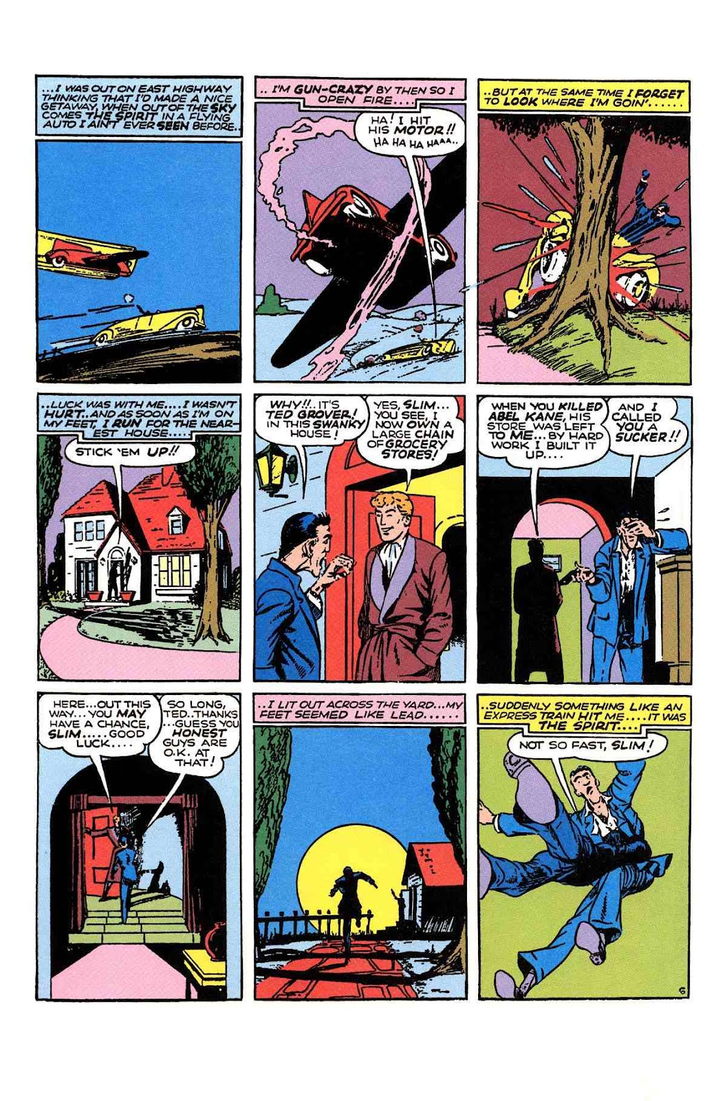 Read online Will Eisner's The Spirit Archives comic -  Issue # TPB 1 (Part 3) - 3