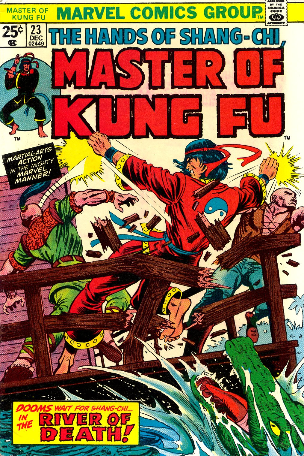 Master of Kung Fu (1974) issue 23 - Page 1