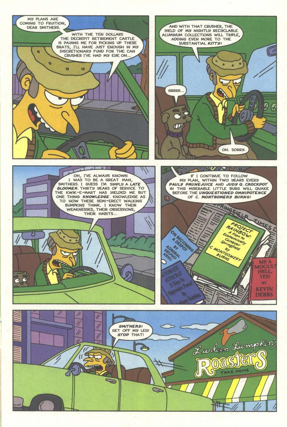 Read online Simpsons Comics comic -  Issue #33 - 8